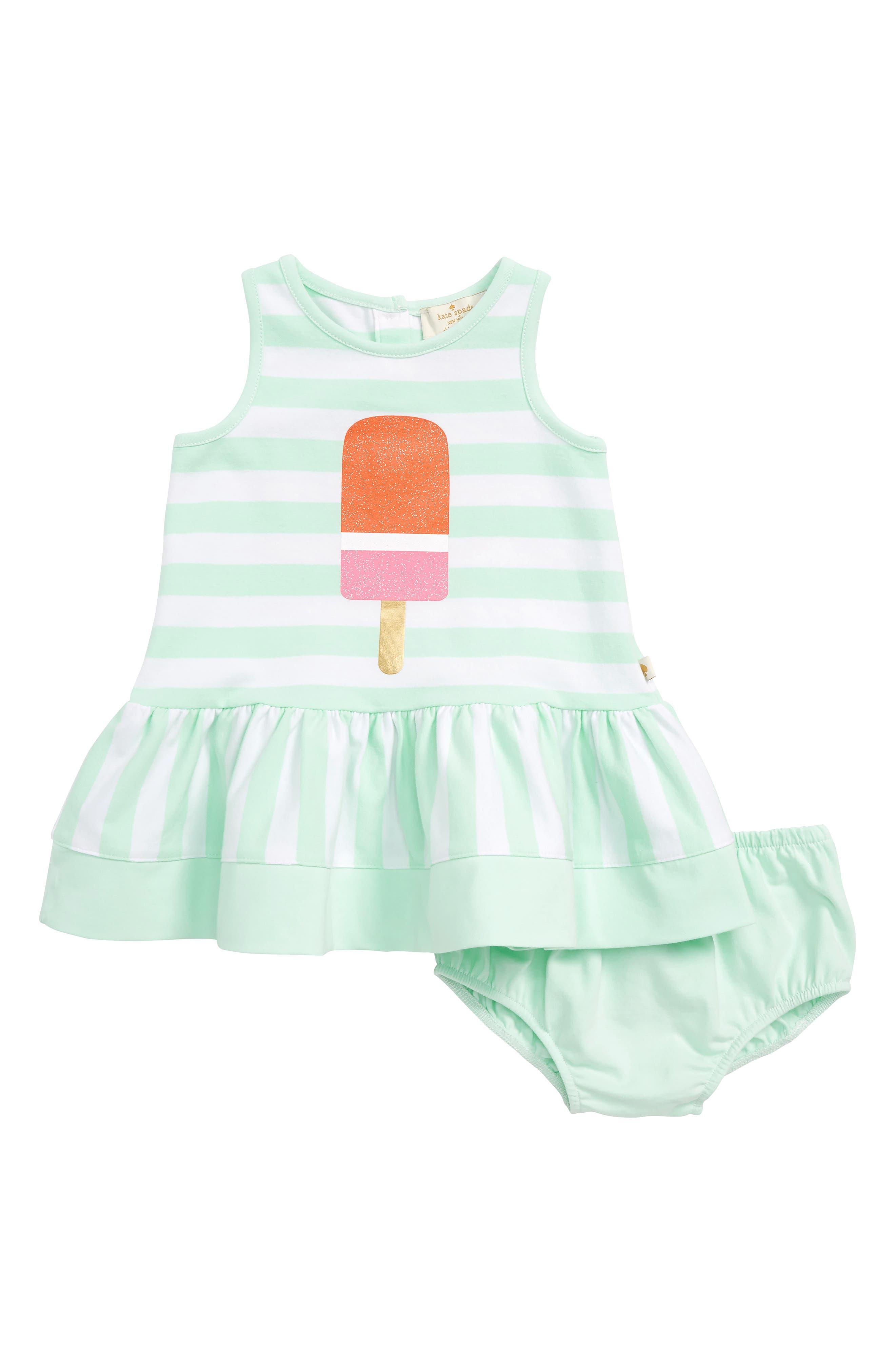 ice pop stripe dress,                         Main,                         color, 344