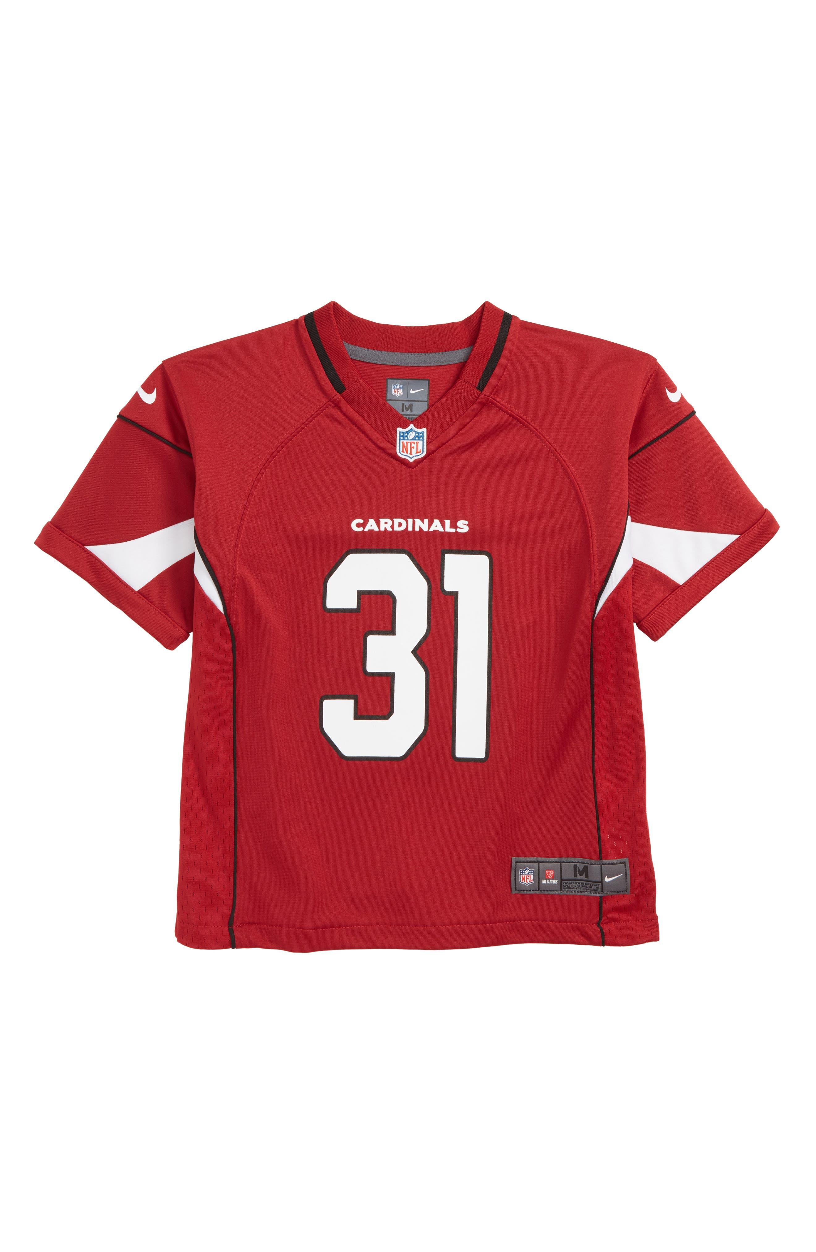 NFL Arizona Cardinals David Johnson Jersey,                             Main thumbnail 1, color,                             CARDINAL