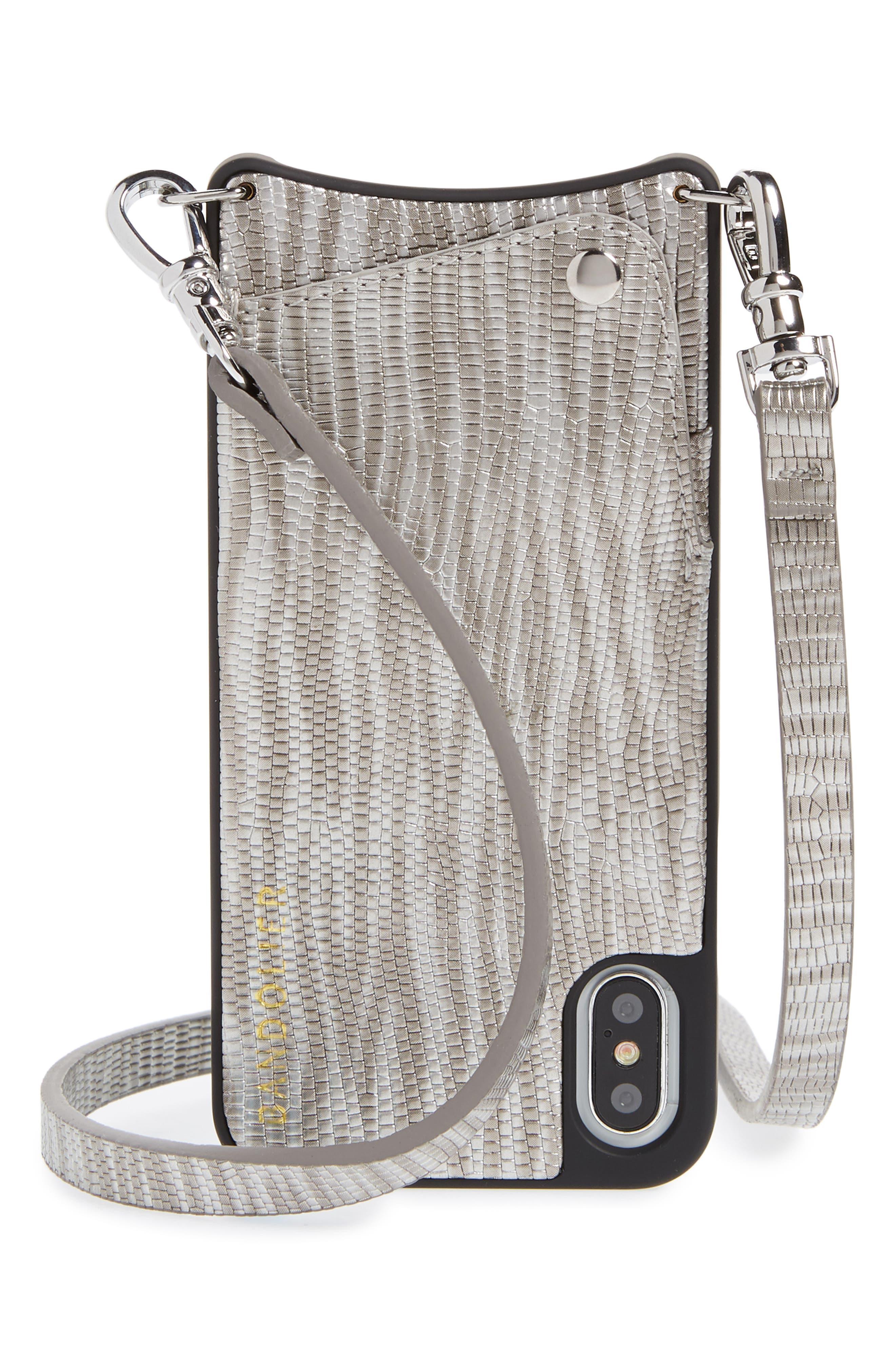 Emma iPhone X/Xs Crossbody Case,                         Main,                         color, 040