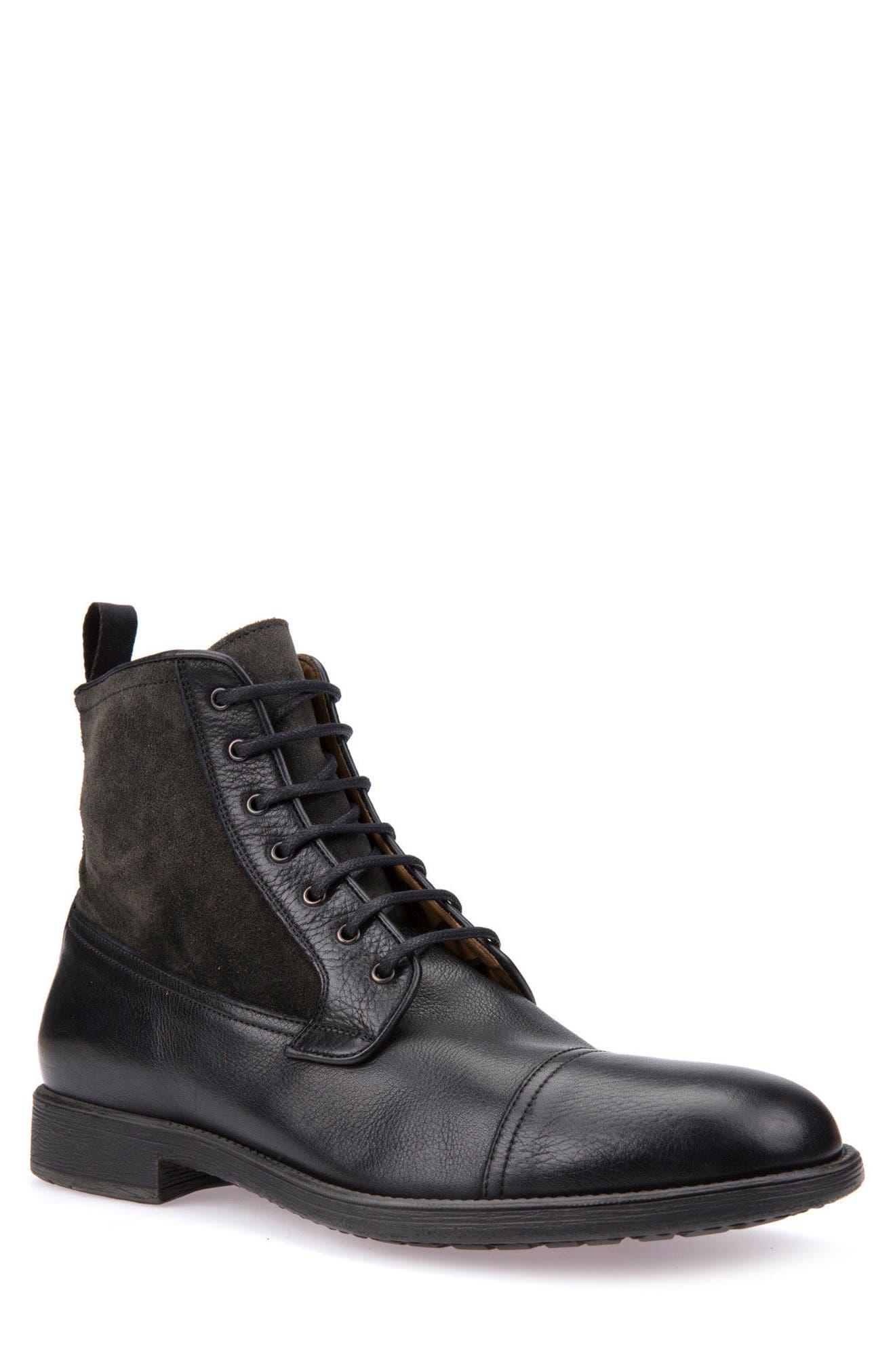 Jaylon 12 Cap-Toe Boot,                             Main thumbnail 1, color,                             001