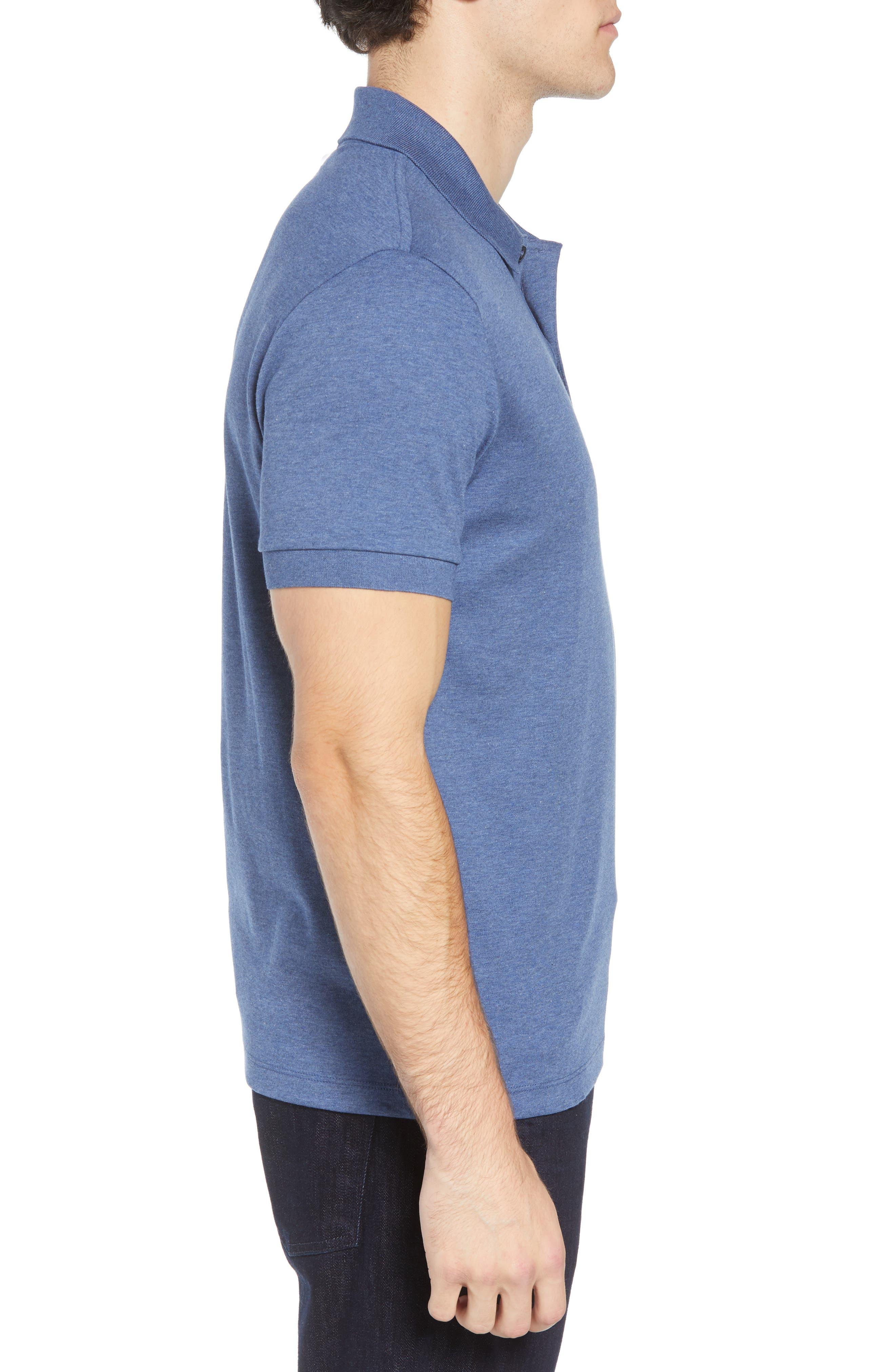 Jersey Interlock Regular Fit Polo,                             Alternate thumbnail 3, color,                             485