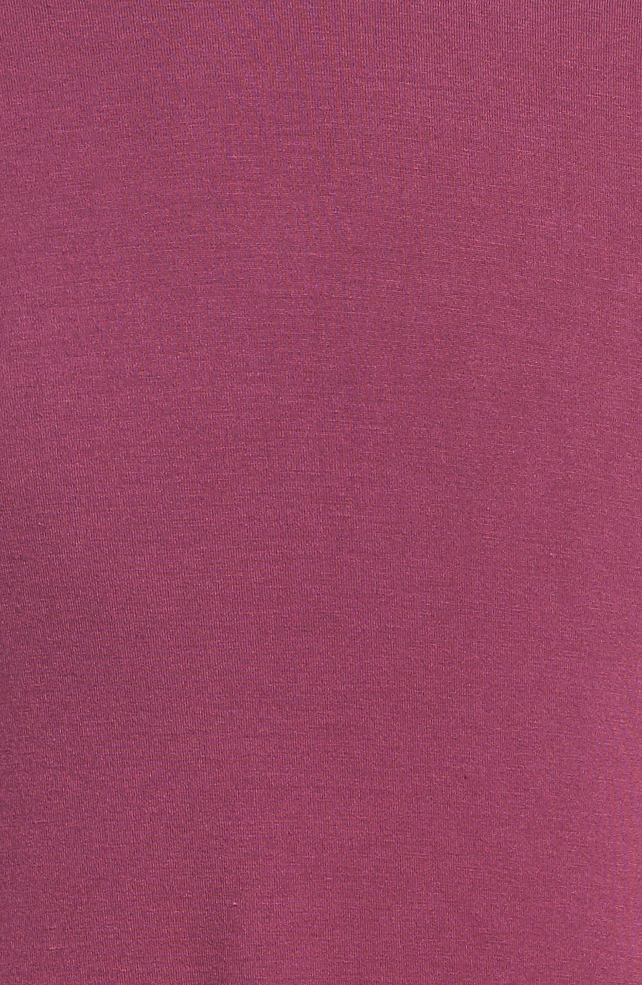 Phyllis Stripe Mock Neck Dress,                             Alternate thumbnail 9, color,