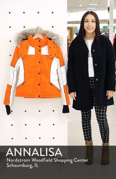 Sno Faux Fur Trim Puffer Jacket, sales video thumbnail