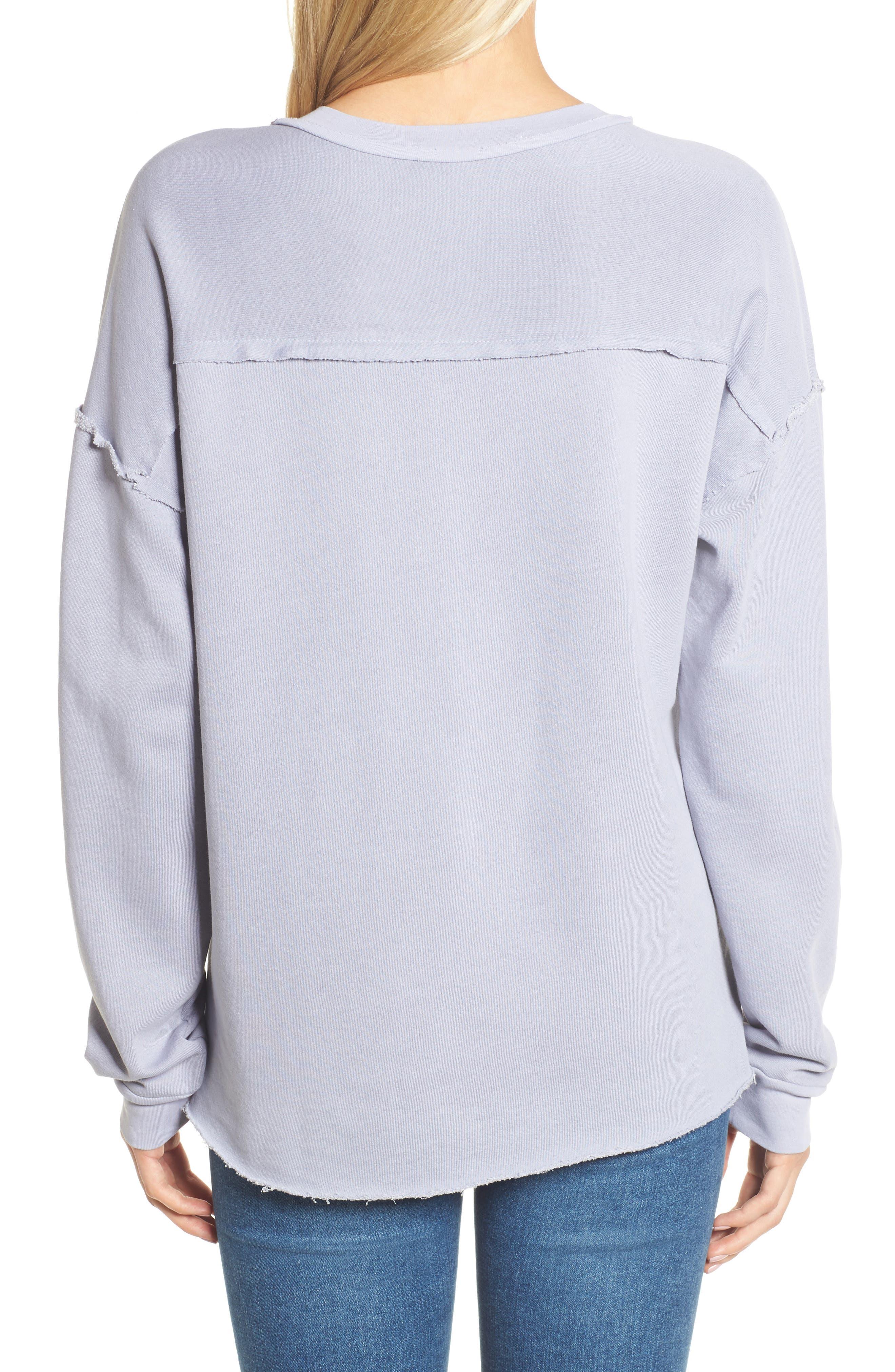 Crew Sweatshirt,                             Alternate thumbnail 2, color,                             090
