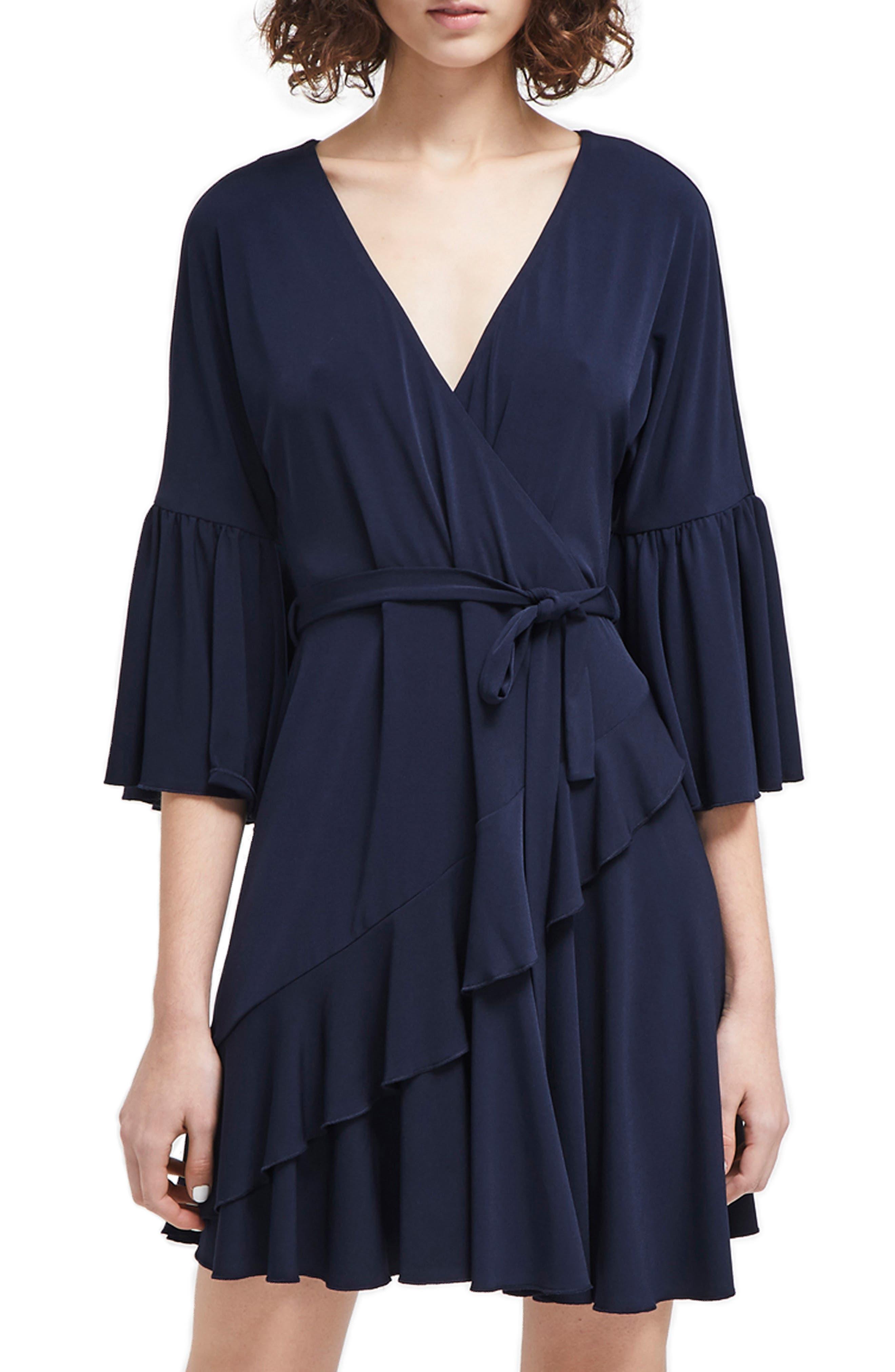 French Connection Ellette Dress, Blue