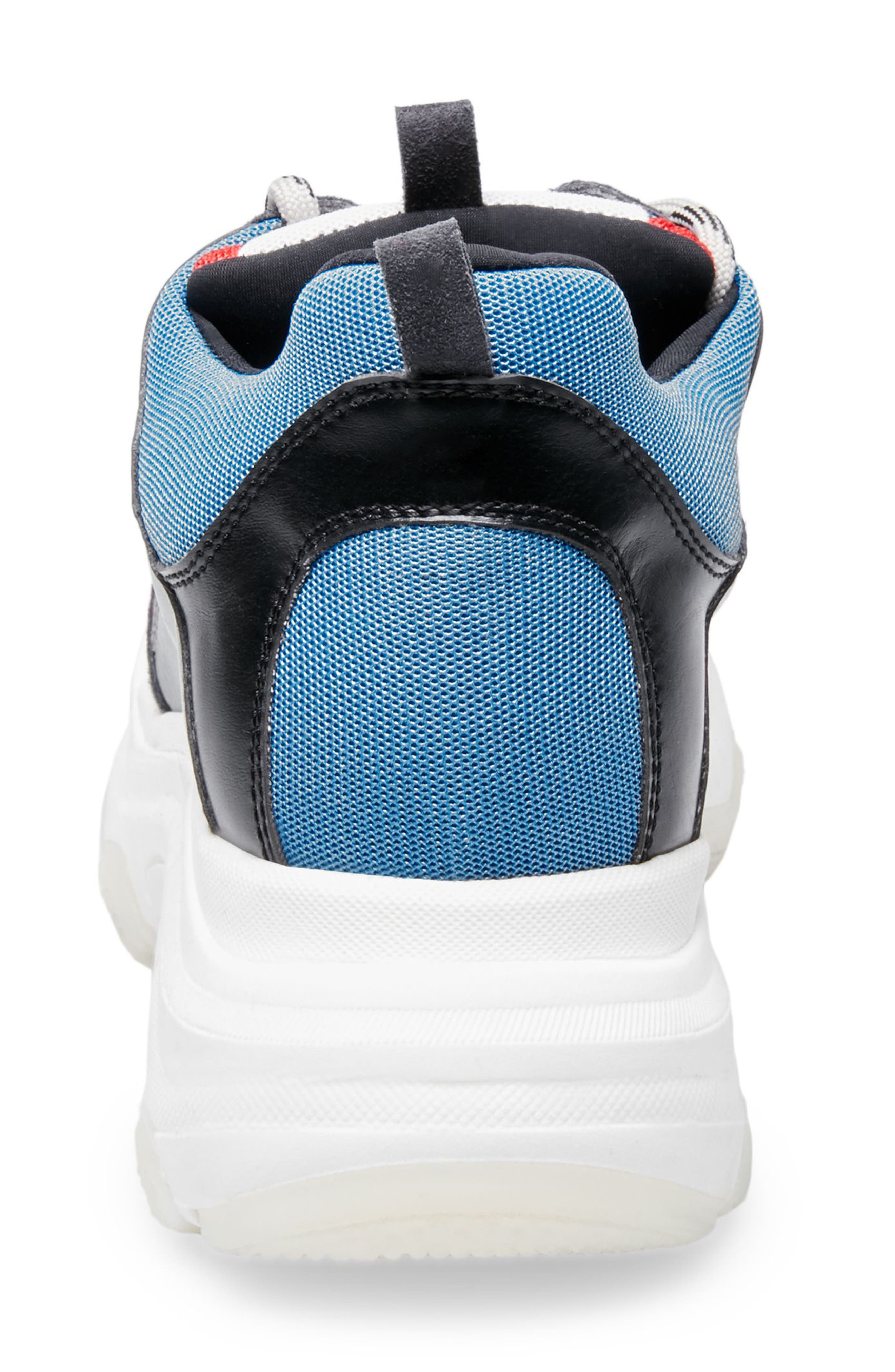 Russell Platform Sneaker,                             Alternate thumbnail 4, color,                             MULTI LEATHER