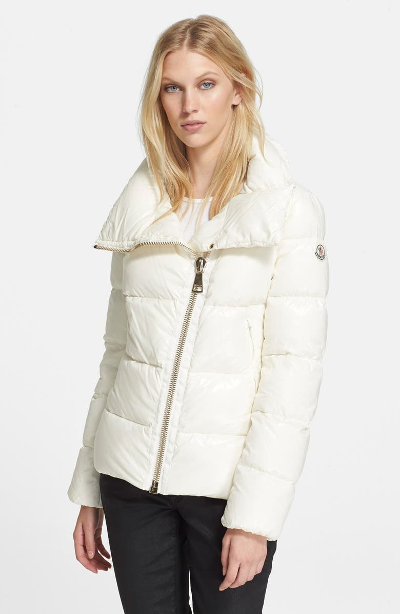 35714699a Moncler  Ilay  Asymmetrical Zip Down Jacket