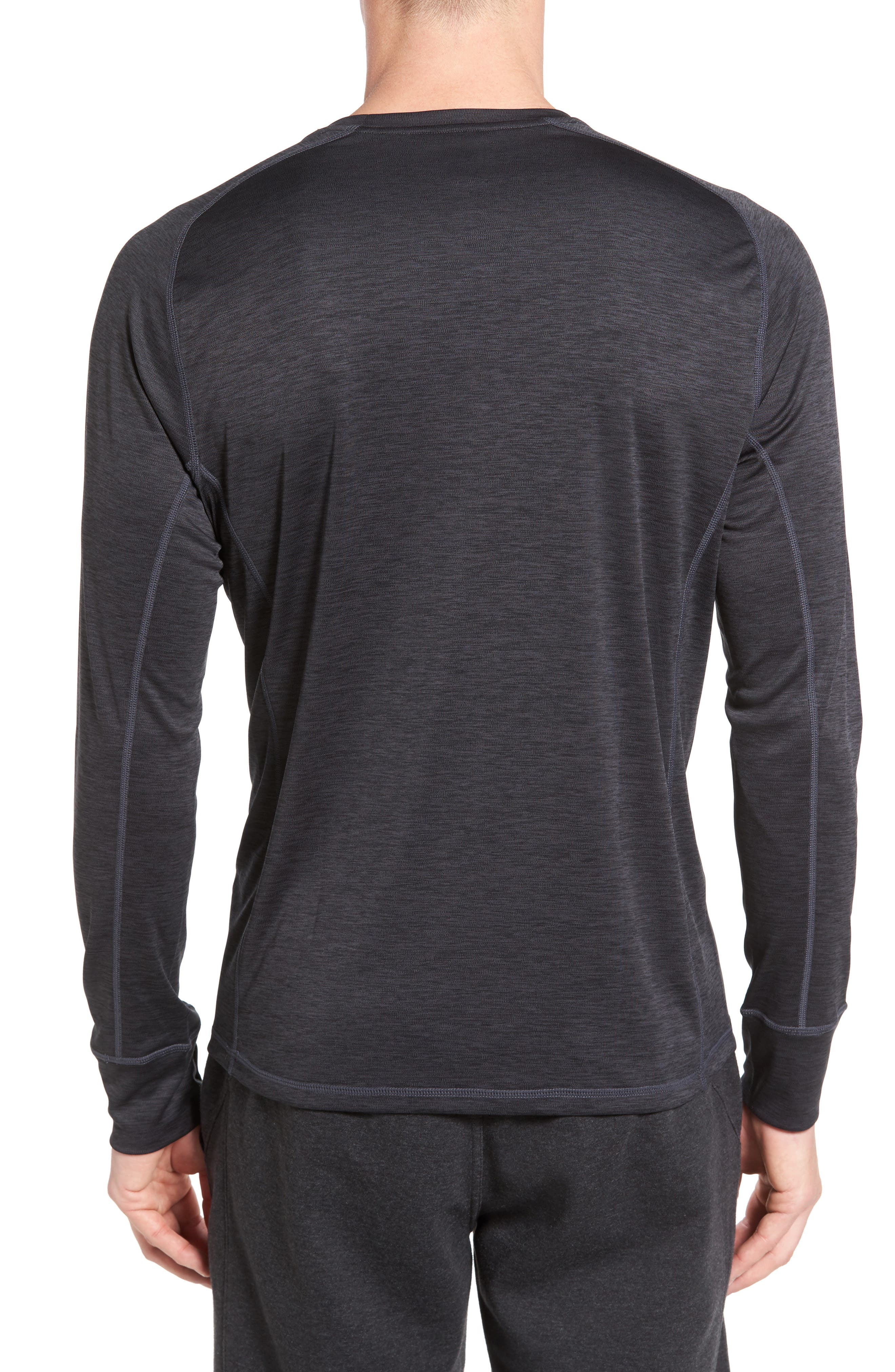 Triplite Long Sleeve T-Shirt,                             Alternate thumbnail 2, color,                             001