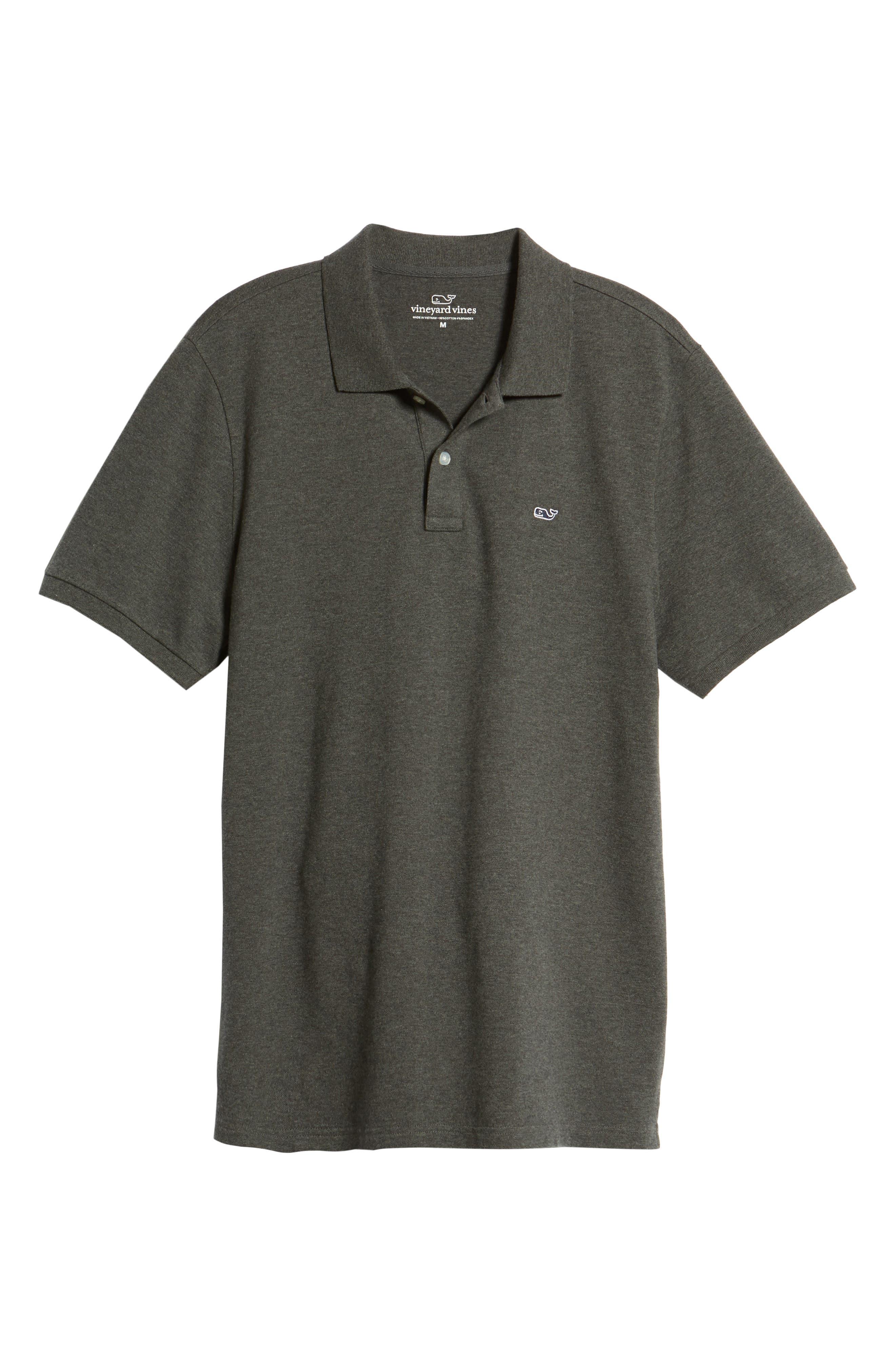 VINEYARD VINES,                             Regular Fit Piqué Polo,                             Alternate thumbnail 6, color,                             025
