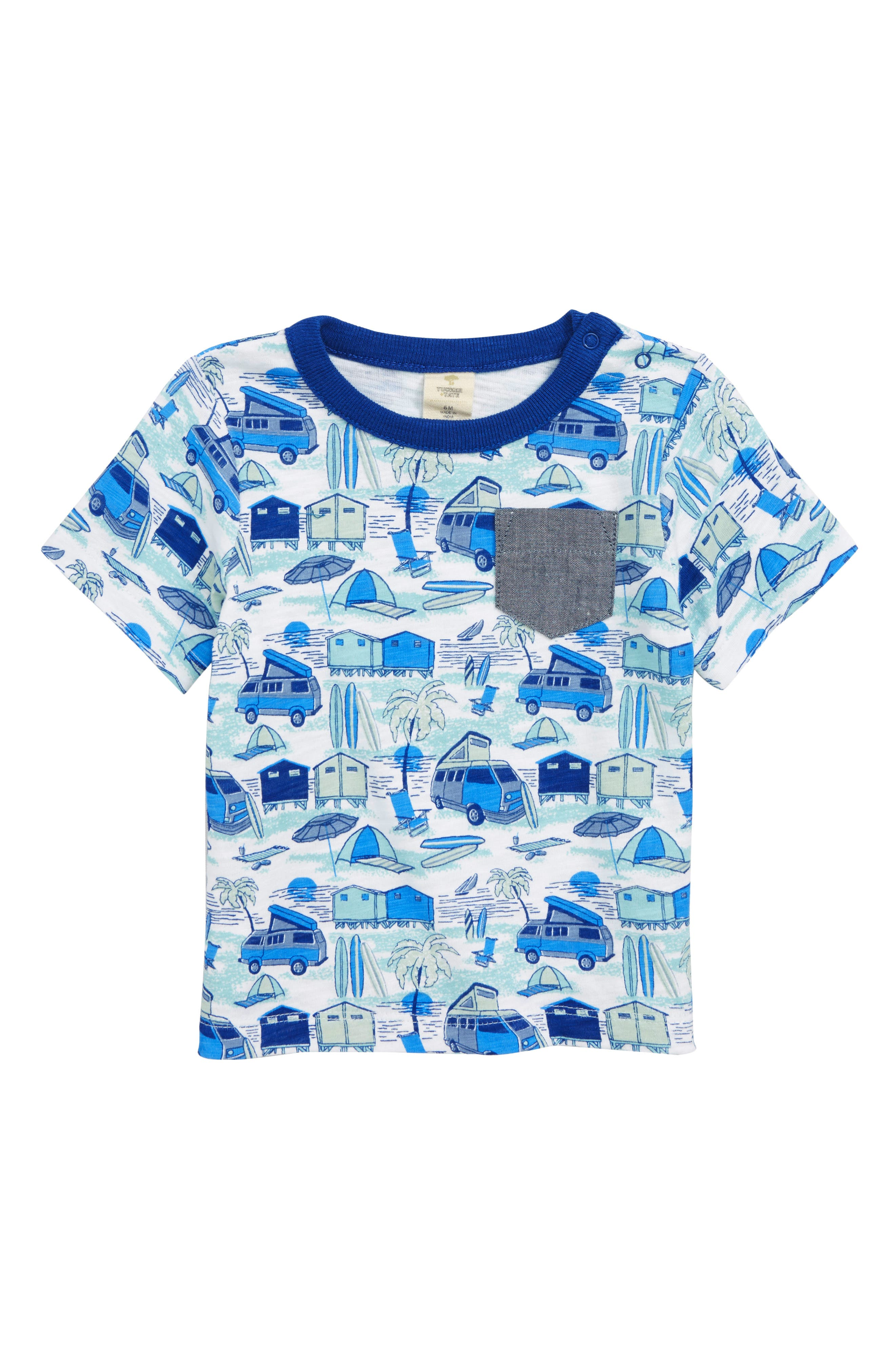Pocket T-Shirt,                         Main,                         color, 100