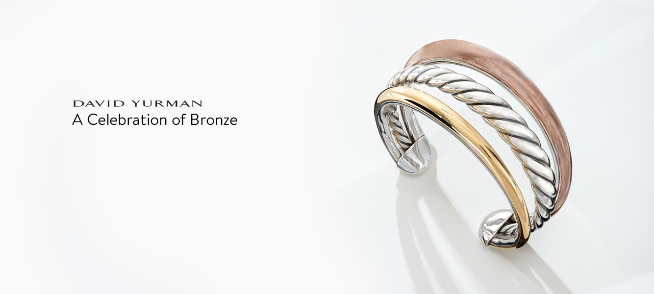 The sophistication of bronze.