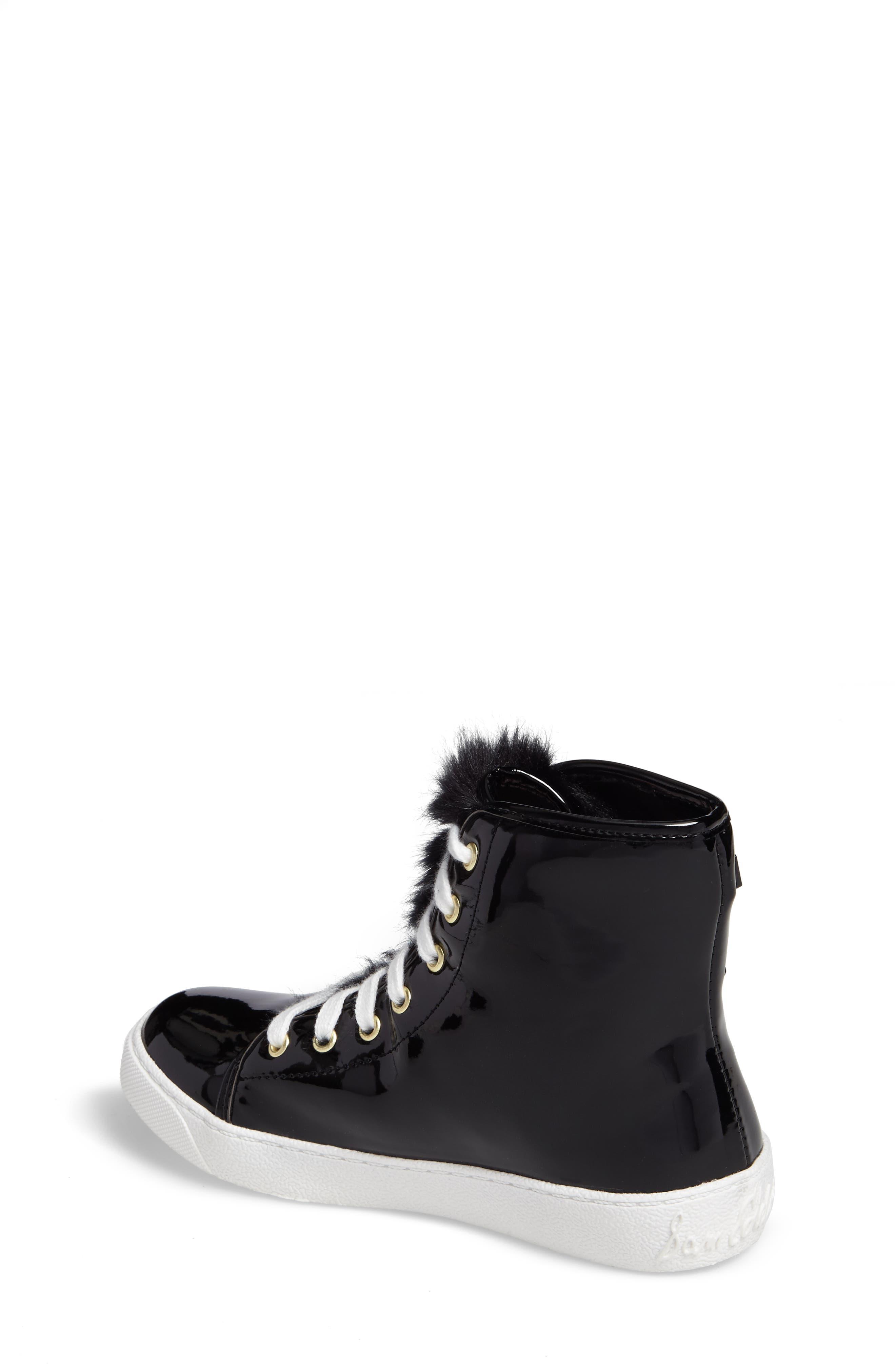 Harriet Heidi High-Top Sneaker,                             Alternate thumbnail 2, color,                             001