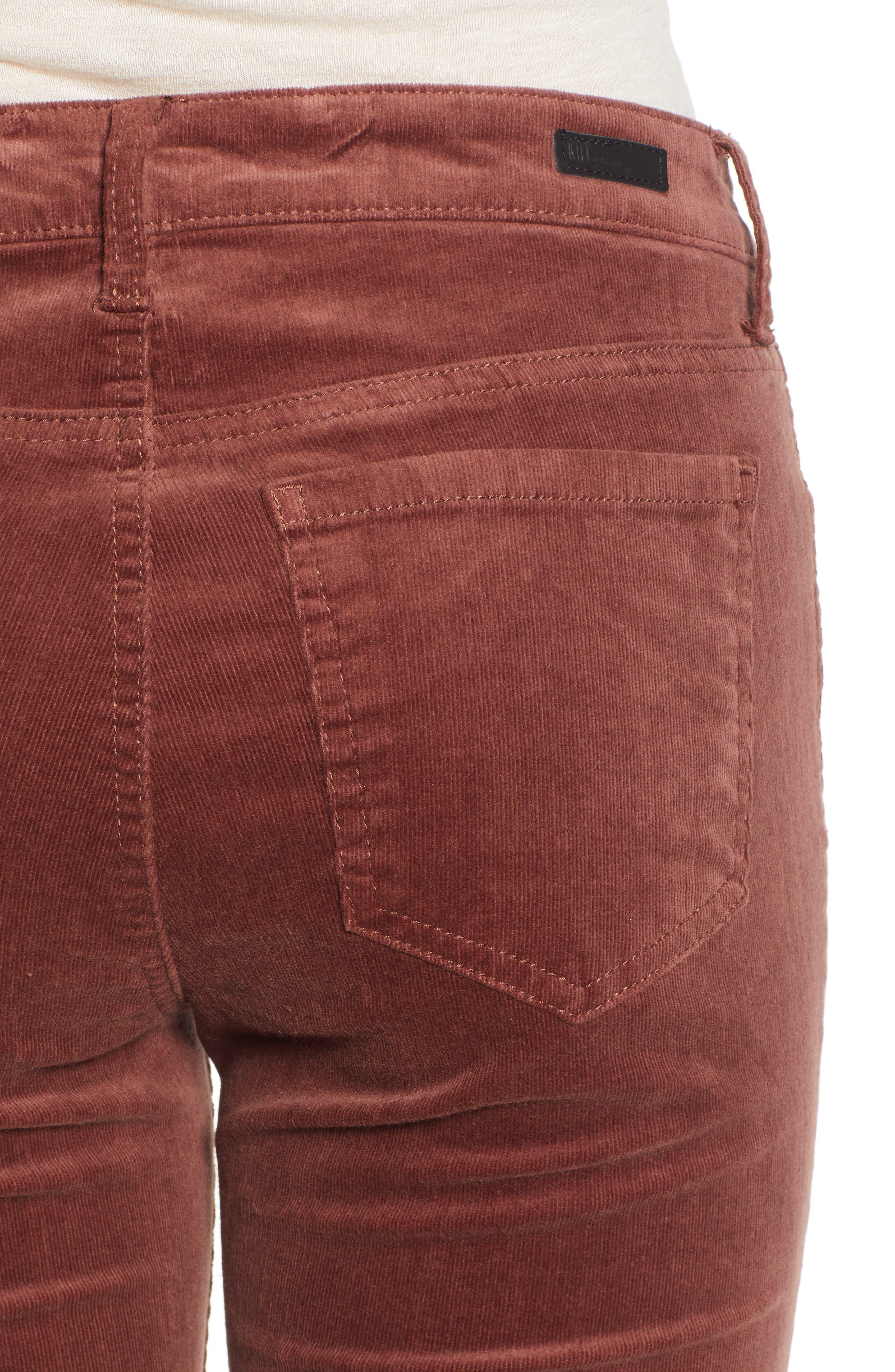 'Diana' Stretch Corduroy Skinny Pants,                             Alternate thumbnail 169, color,