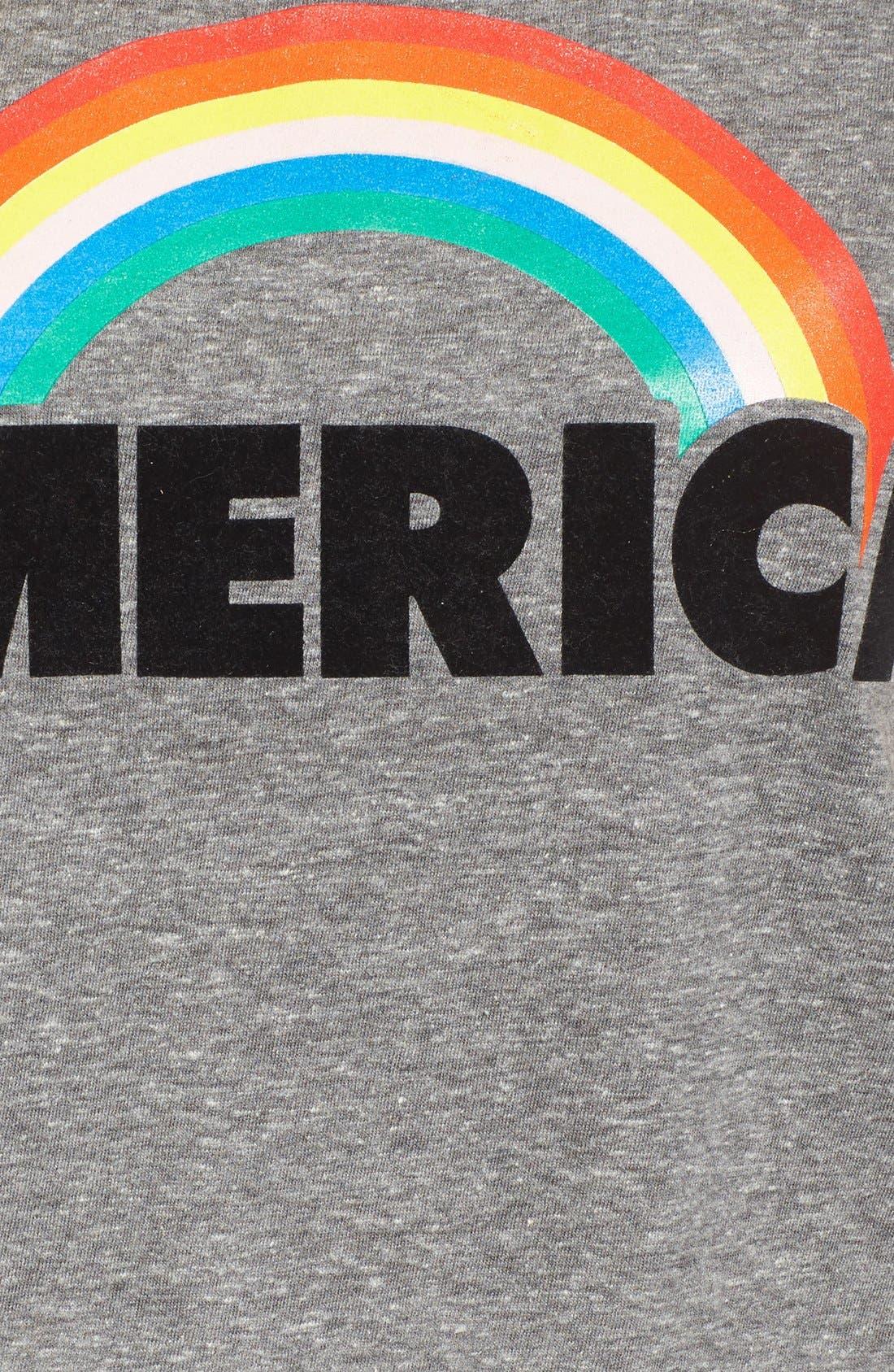 Frankie America Muscle Tee,                             Alternate thumbnail 2, color,                             031