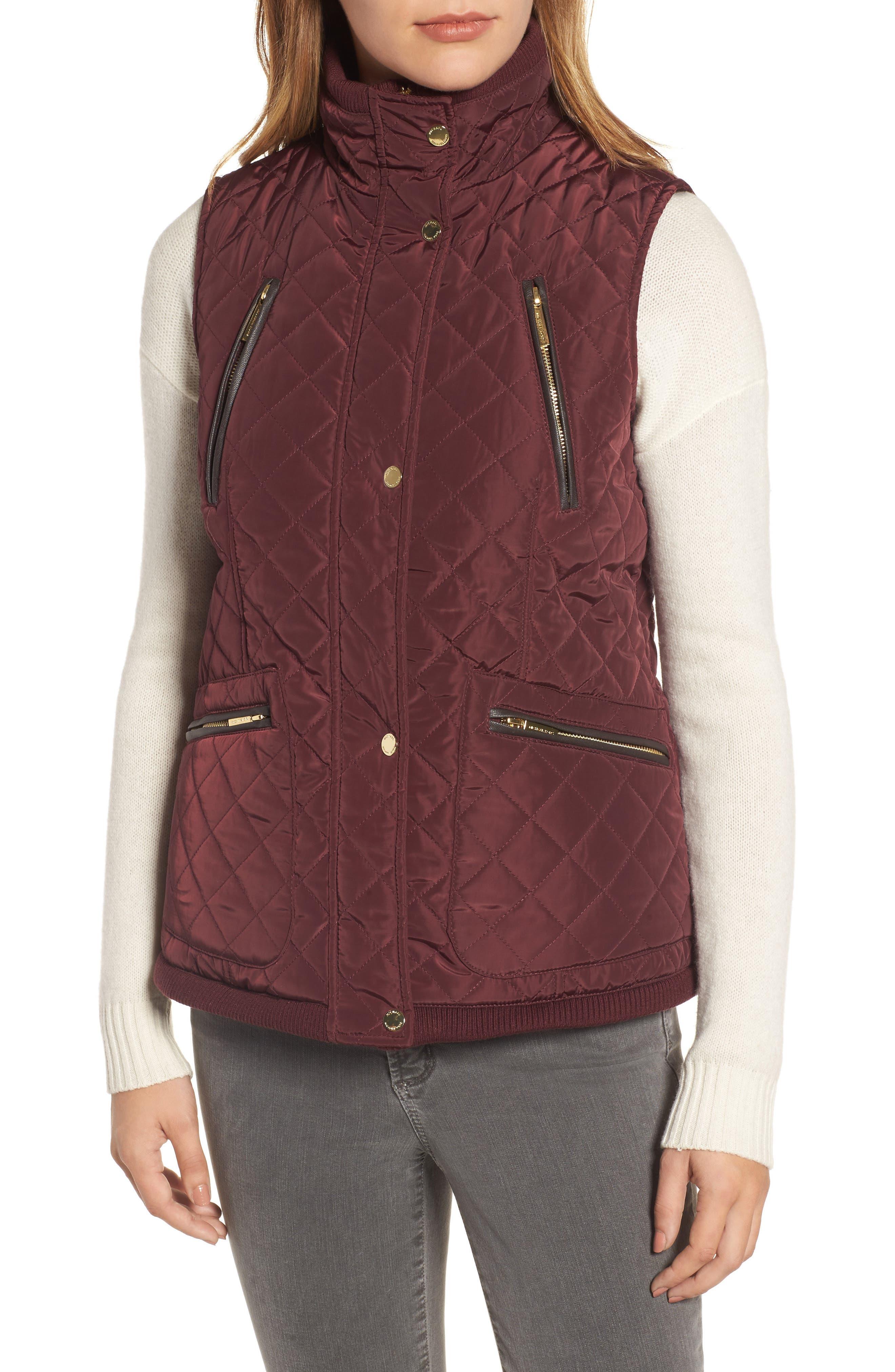 Diamond Quilted Vest,                             Alternate thumbnail 17, color,
