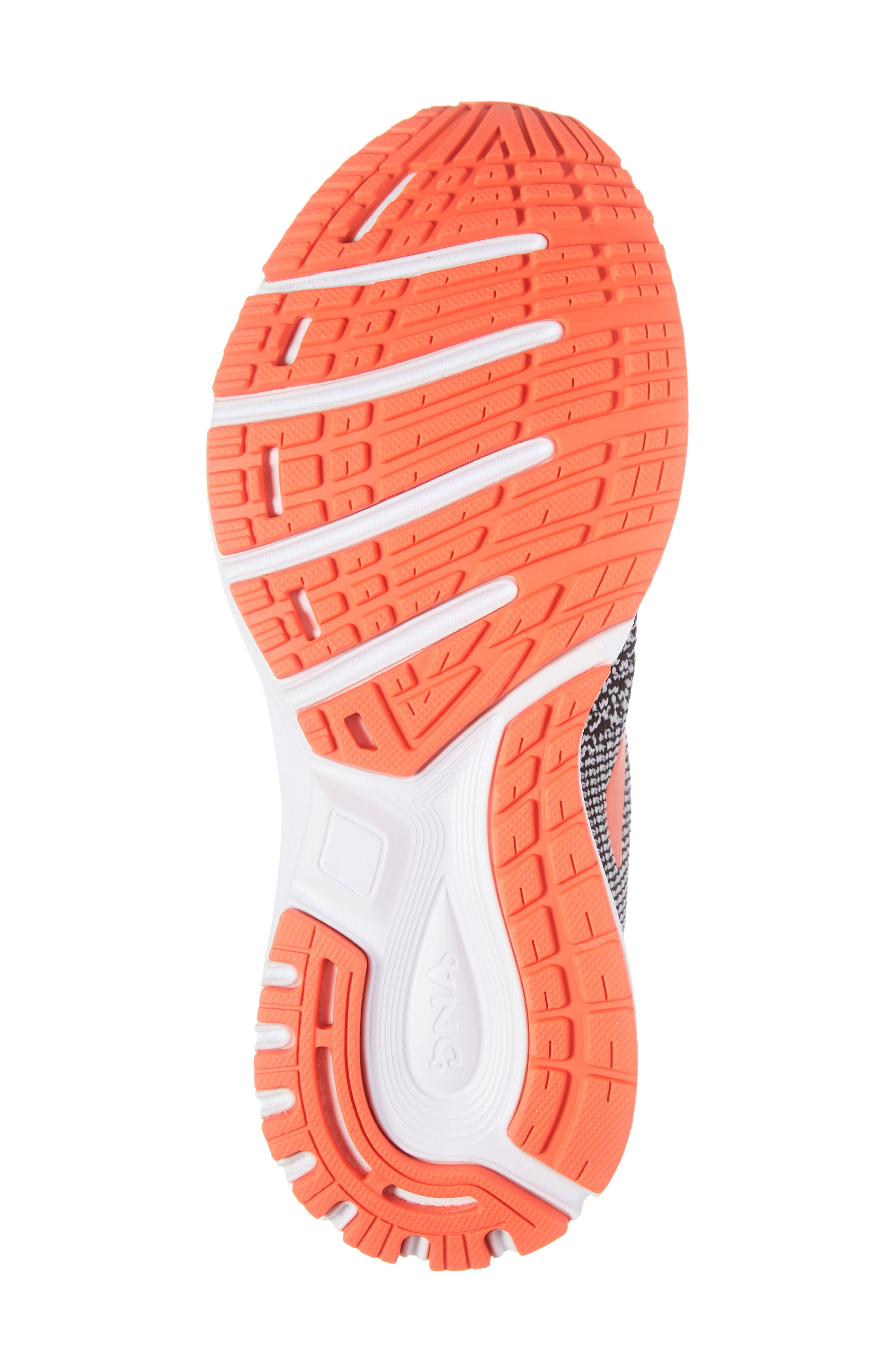 Revel 2 Running Shoe,                             Alternate thumbnail 6, color,                             BLACK/ LIGHT GREY/ CORAL