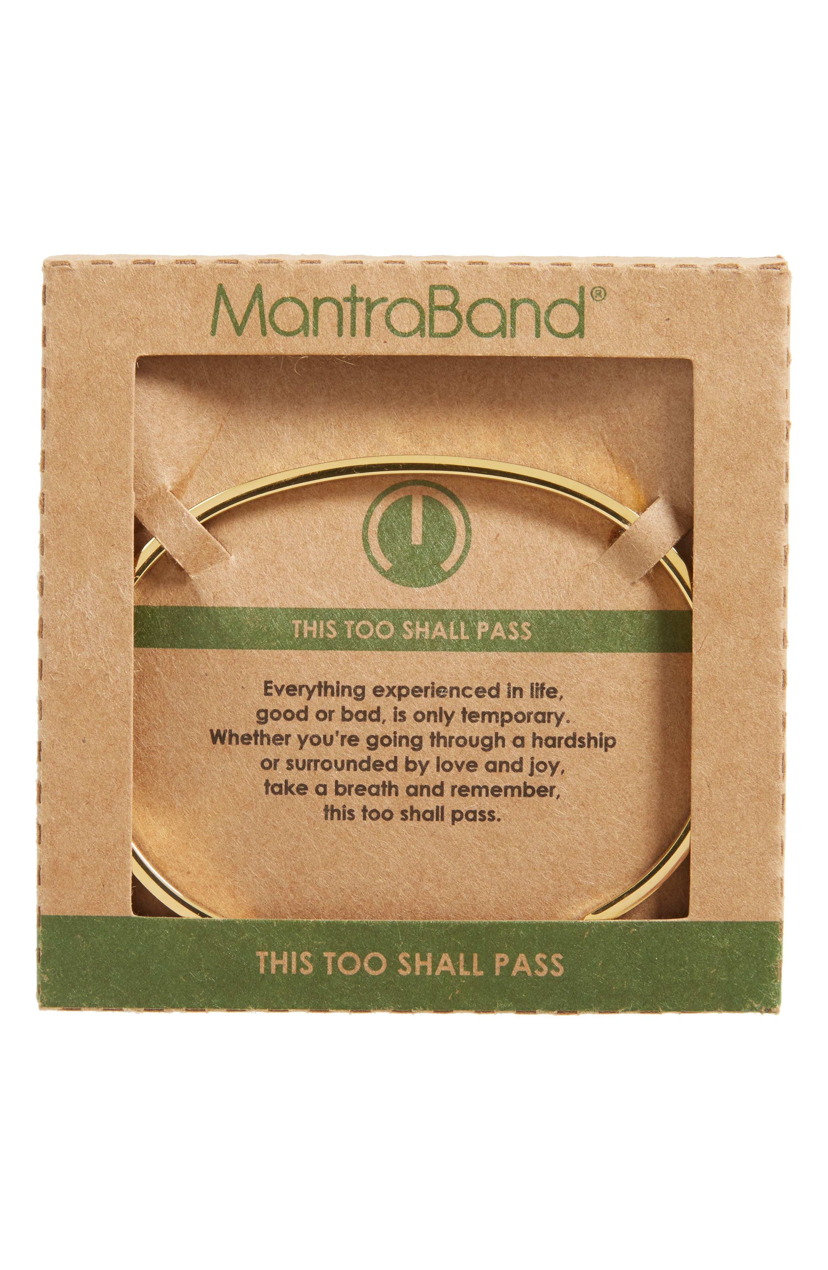 This Too Shall Pass Wrist Cuff,                             Alternate thumbnail 6, color,