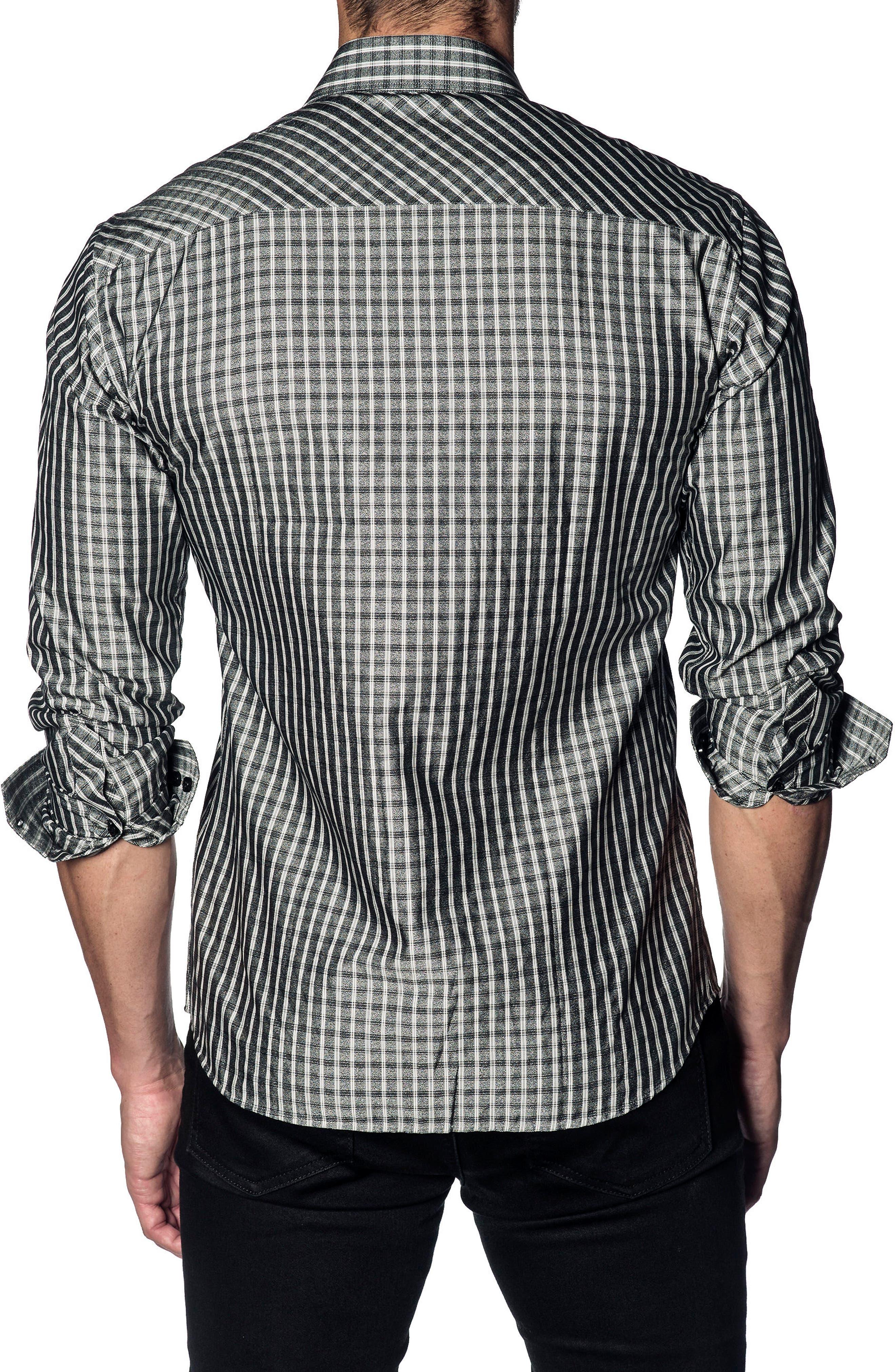 Slim Fit Grid Sport Shirt,                             Alternate thumbnail 2, color,                             029