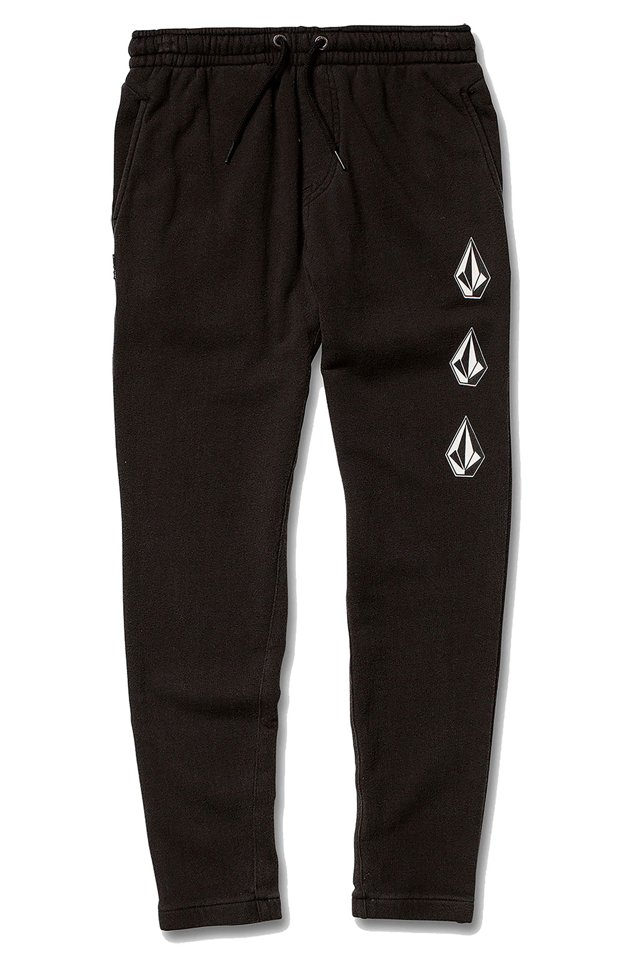 Deadly Stones Sweatpants,                             Main thumbnail 1, color,                             BLACK