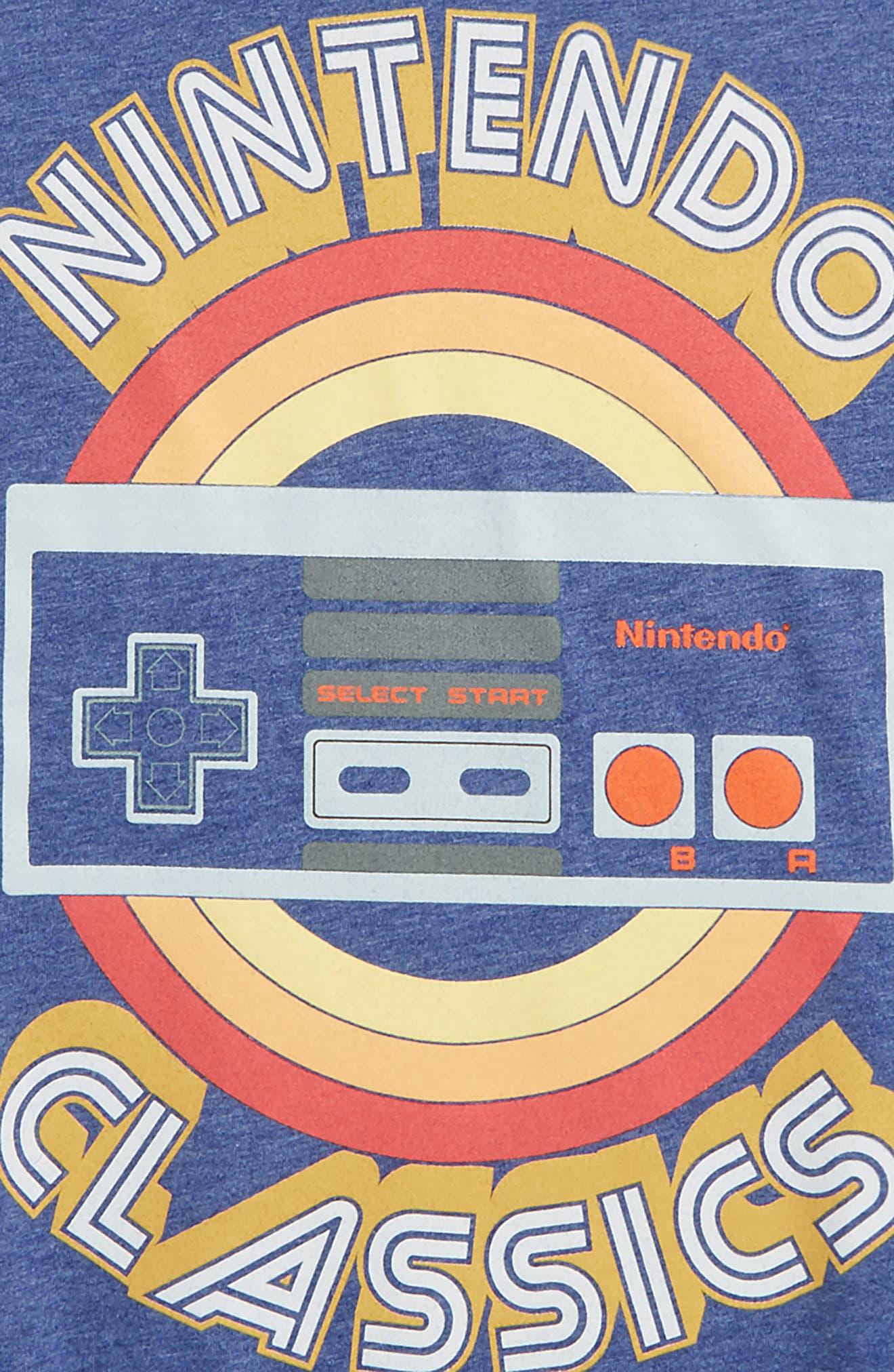 Nintendo Entertainment System<sup>®</sup> Classics Graphic T-Shirt,                             Alternate thumbnail 2, color,                             428