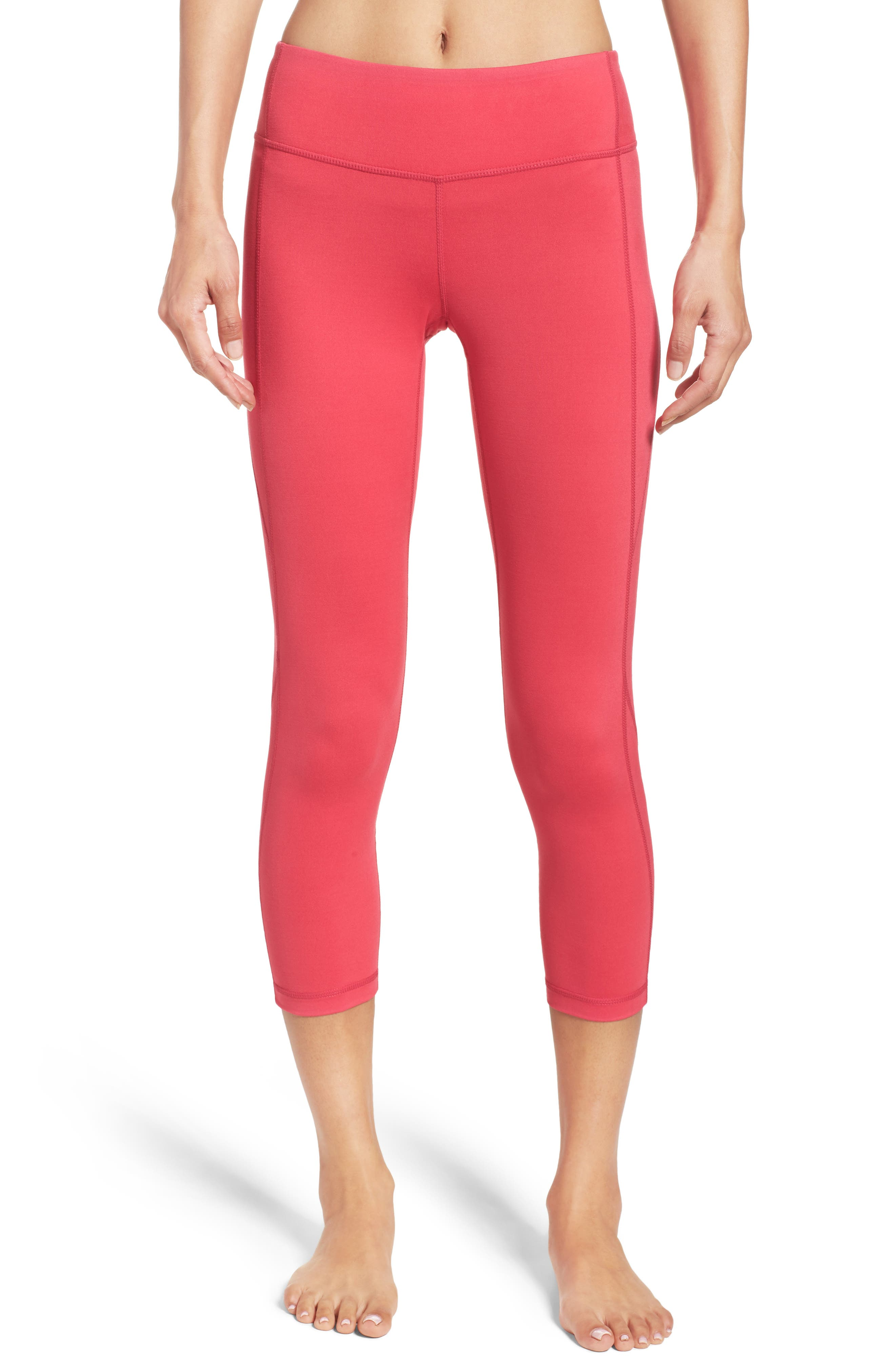 Live-In Keep It Cool Crop Leggings,                             Main thumbnail 10, color,