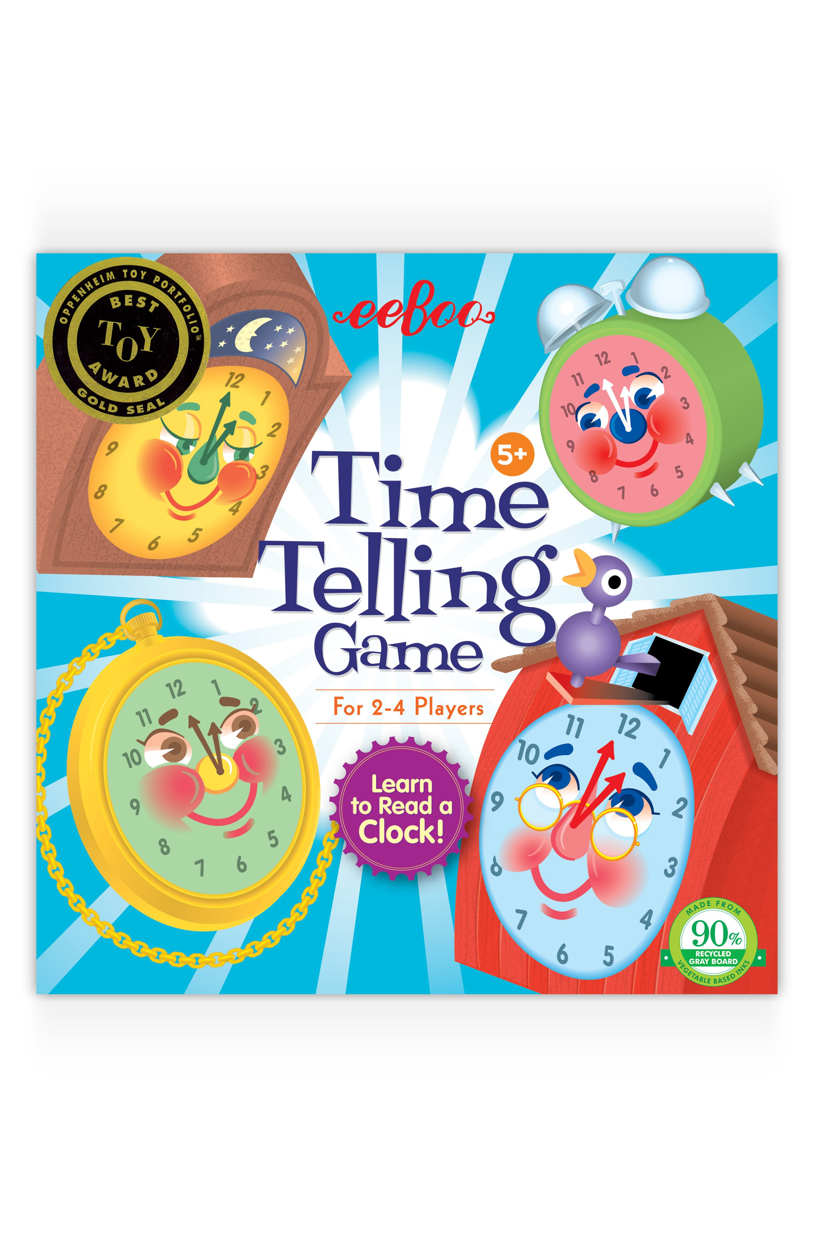 Time Telling Game,                             Main thumbnail 1, color,                             400