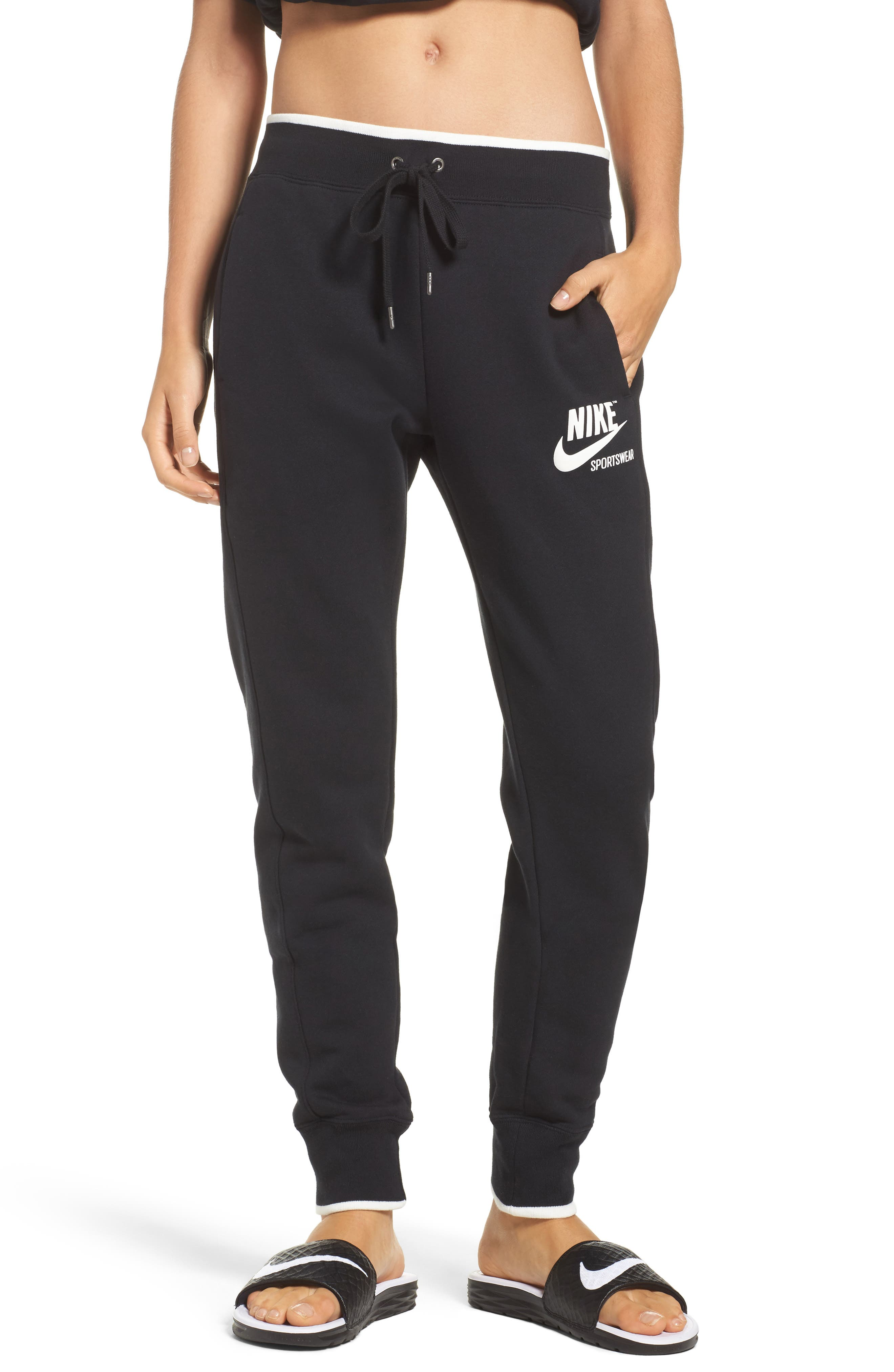 Fleece Knit Pants,                         Main,                         color, 010