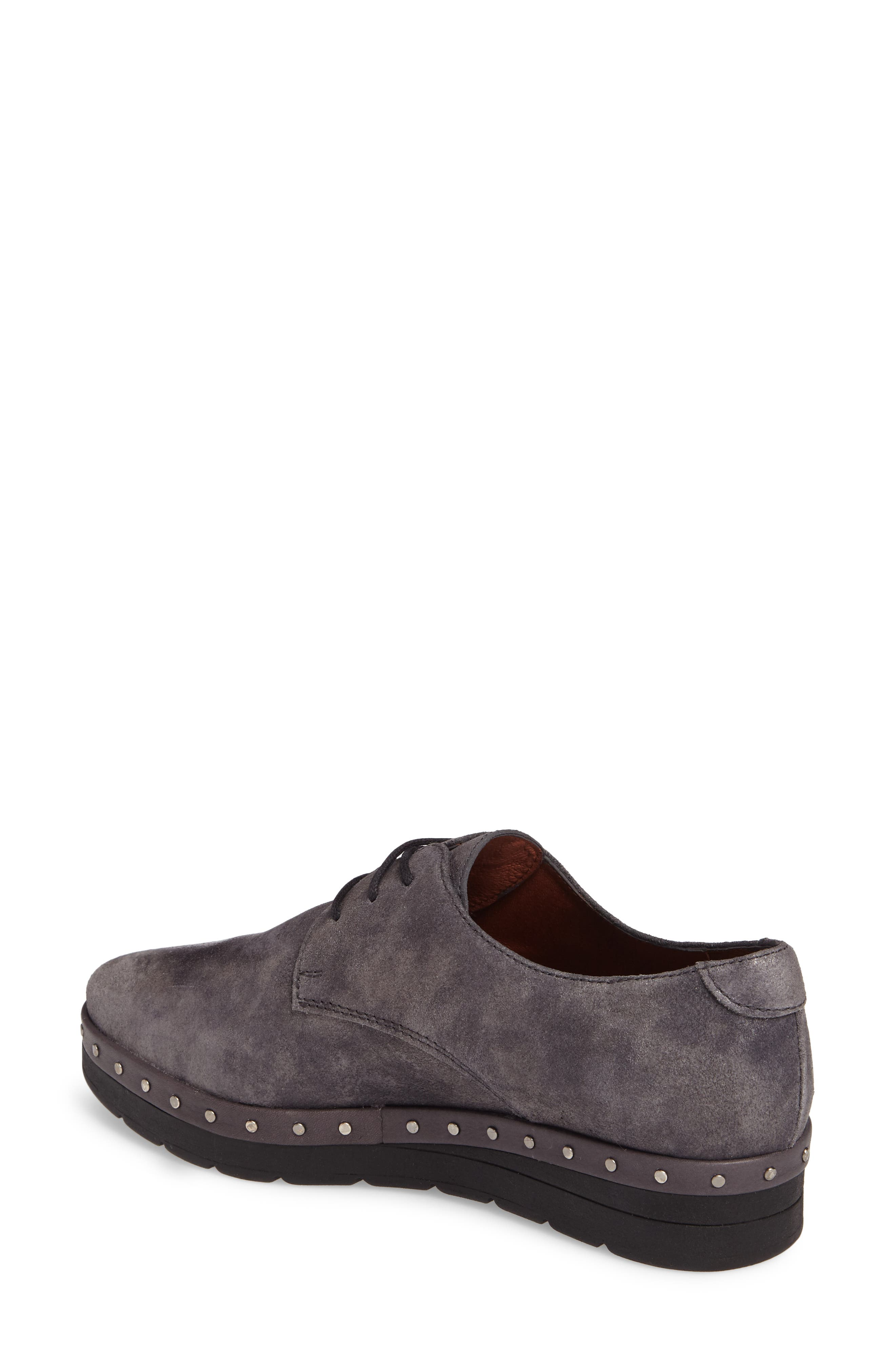 Abbot Oxford,                             Alternate thumbnail 2, color,                             BRUT GREY LEATHER