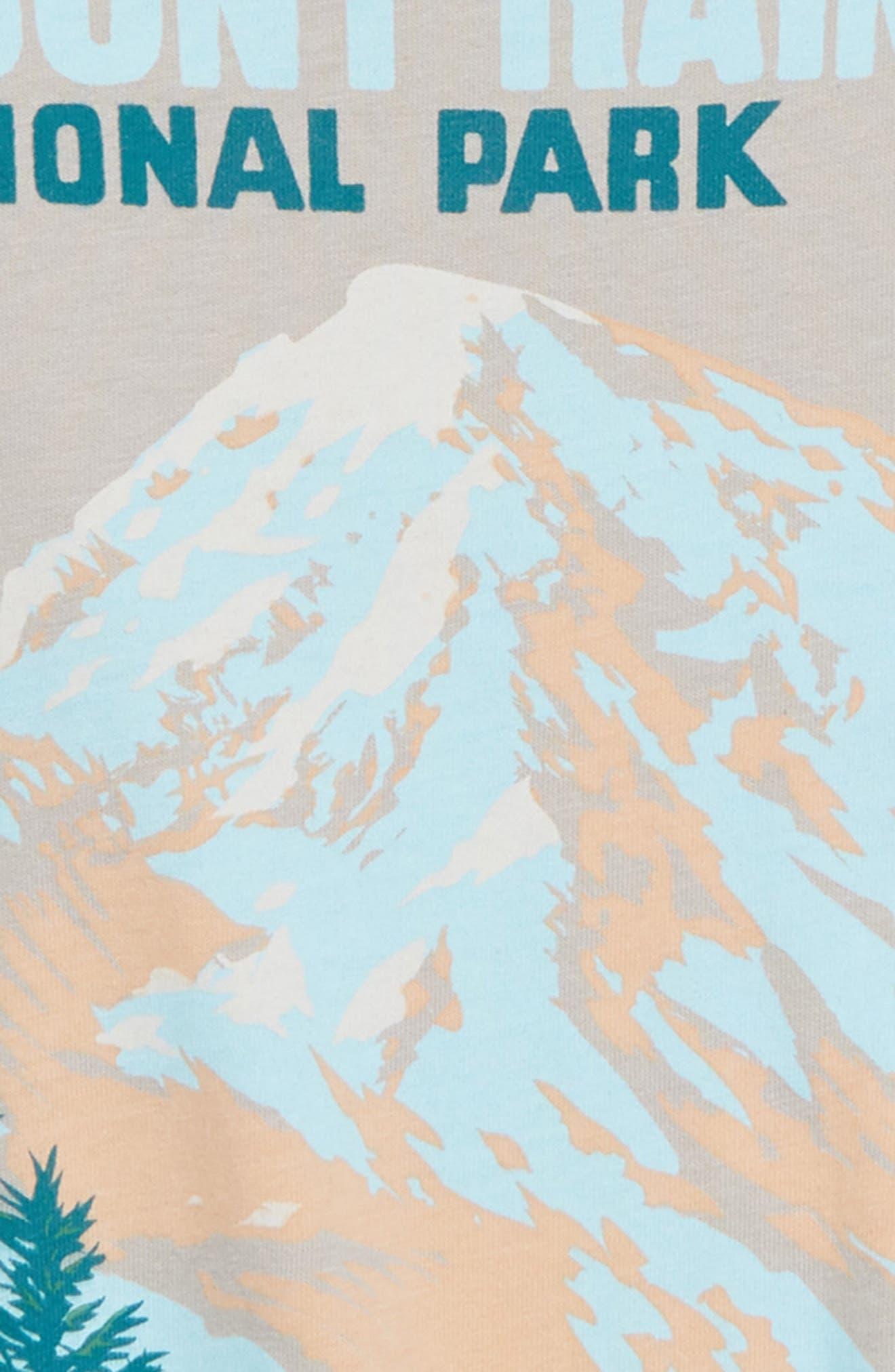 Mount Rainier Graphic T-Shirt,                             Alternate thumbnail 2, color,                             GREY