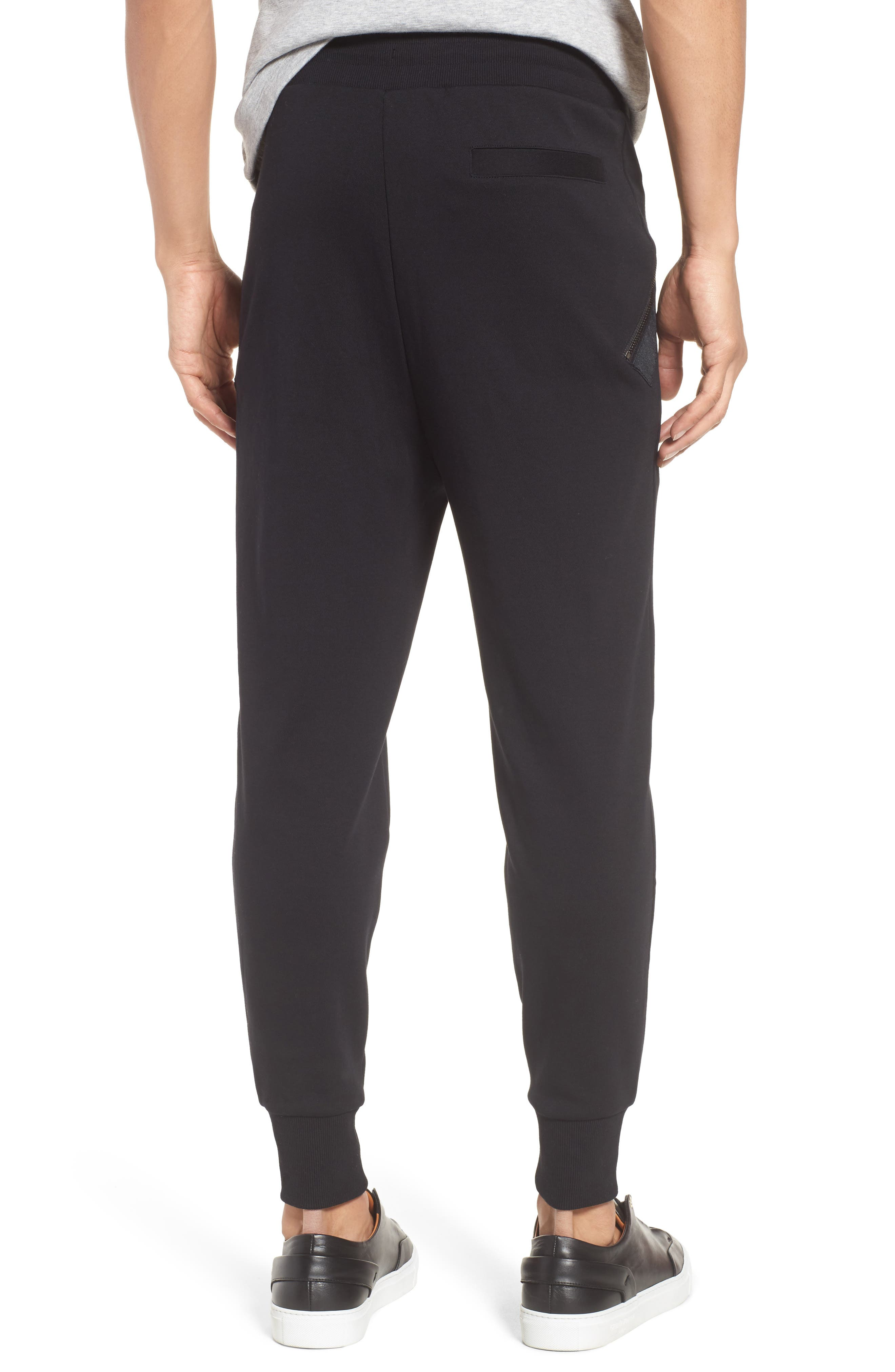 Daring Relaxed Fit Sweatpants,                             Alternate thumbnail 2, color,                             001