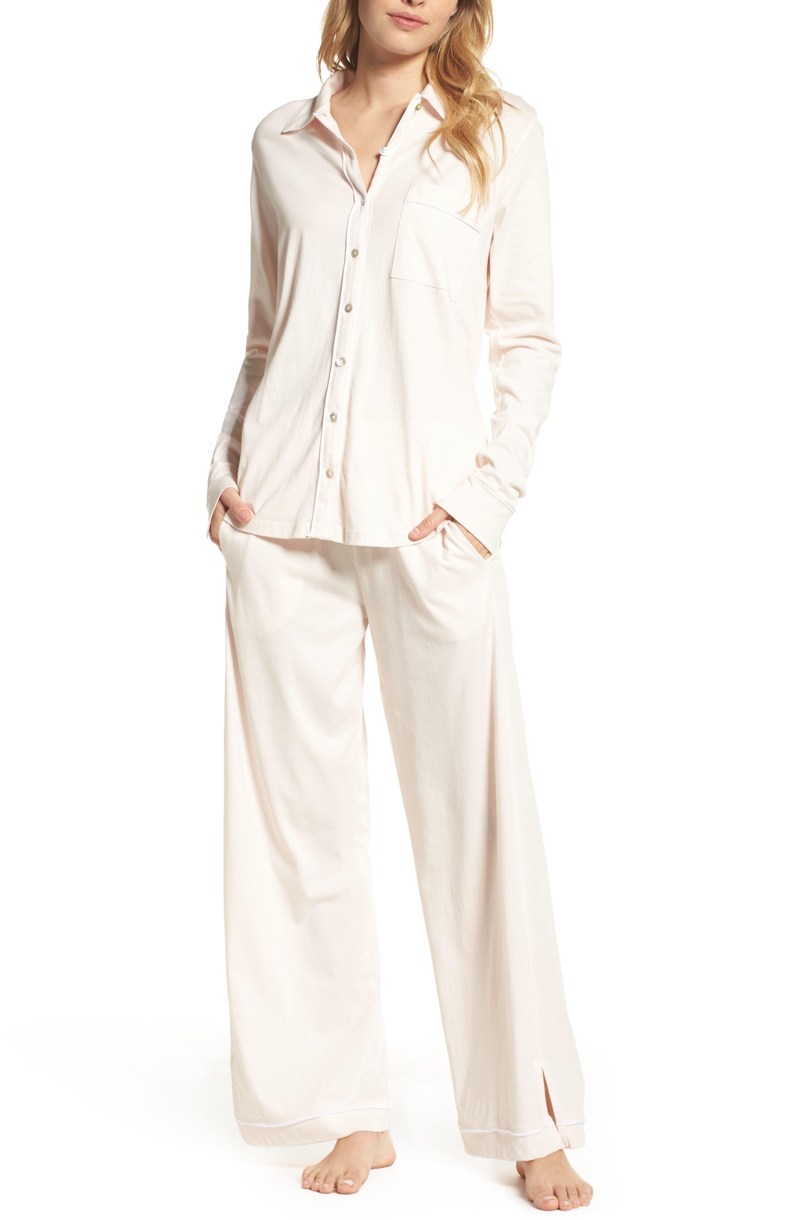 Penelope Pima Cotton Pajamas,                             Main thumbnail 1, color,                             689