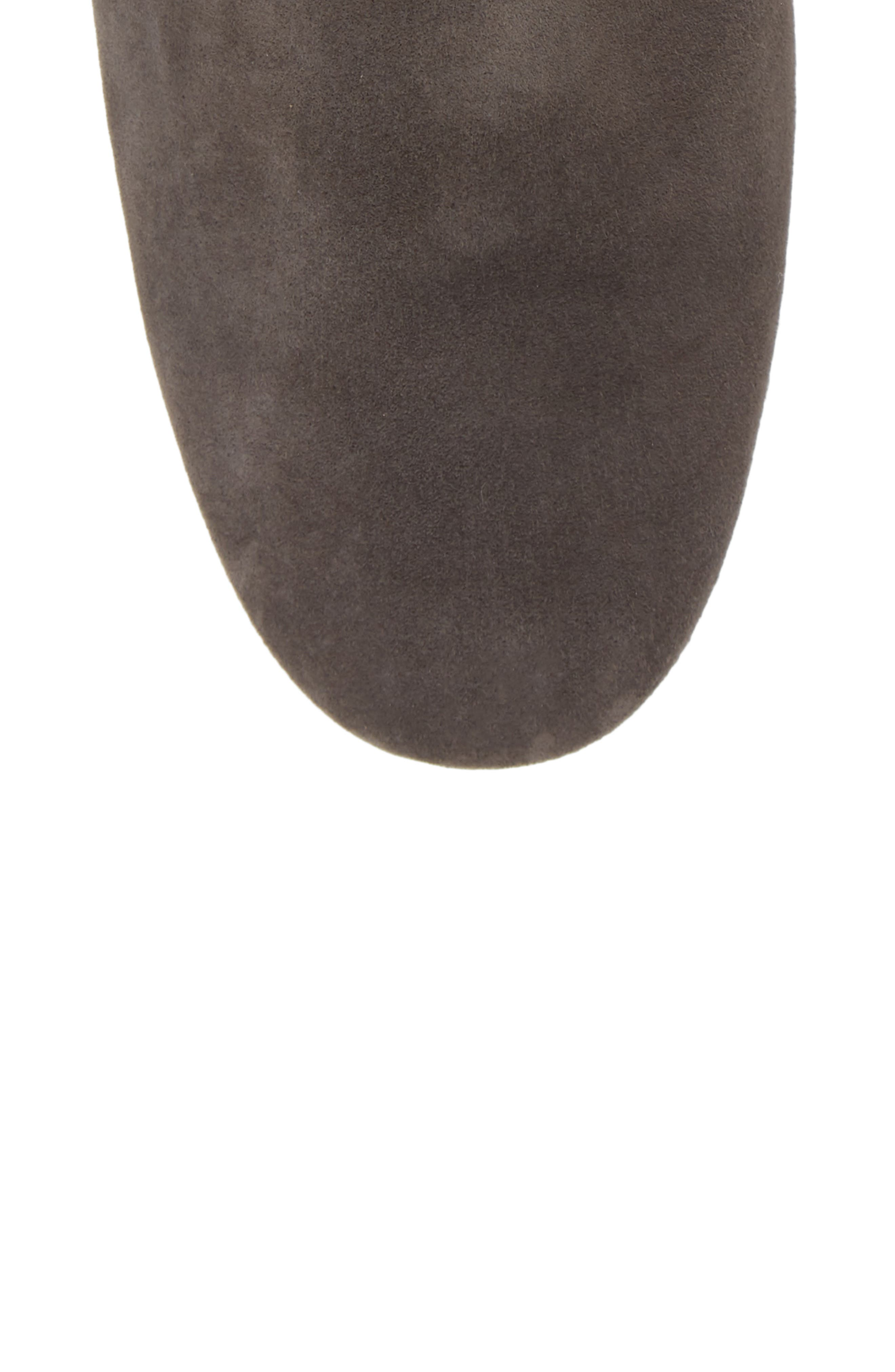 Taylor Bootie,                             Alternate thumbnail 5, color,                             IRON SUEDE