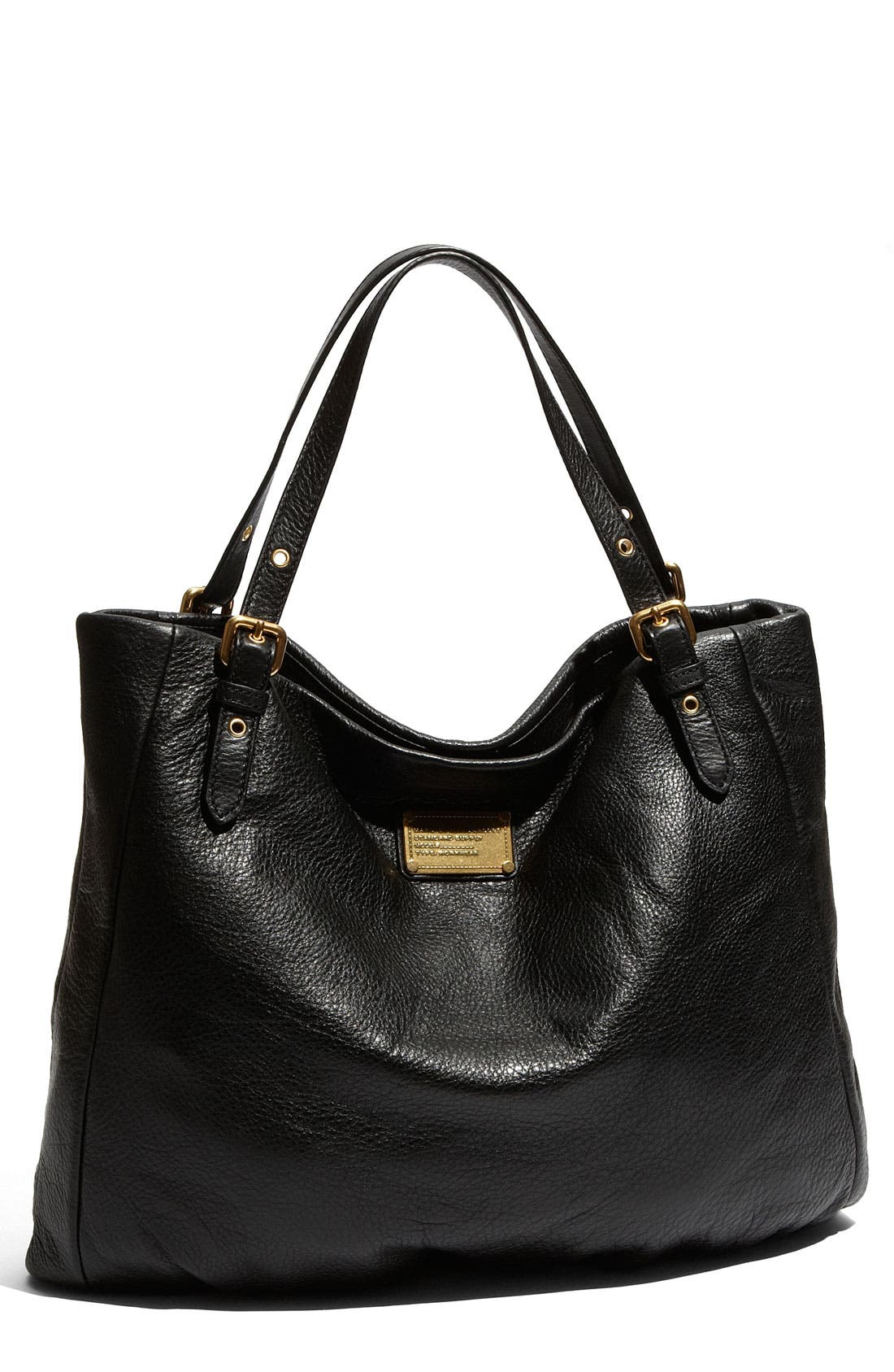 MARC BY MARC JACOBS 'Classic Q - Shopgirl' Leather Tote,                             Main thumbnail 1, color,