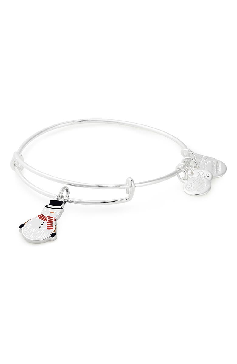 Alex And Ani CHARITY BY DESIGN JUST CHILL ADJUSTABLE WIRE BANGLE