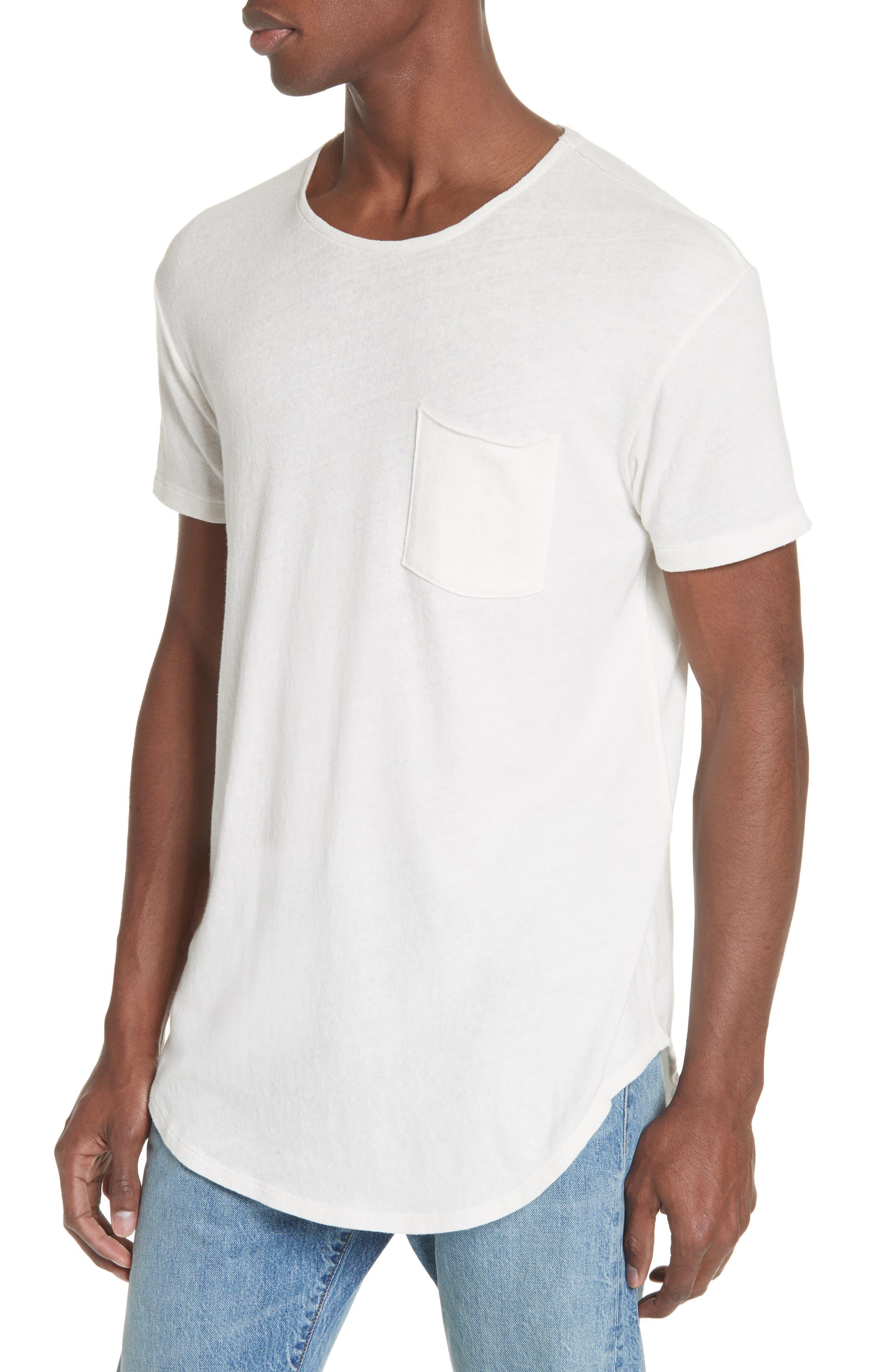 Pocket T-Shirt,                             Alternate thumbnail 4, color,                             WHITE