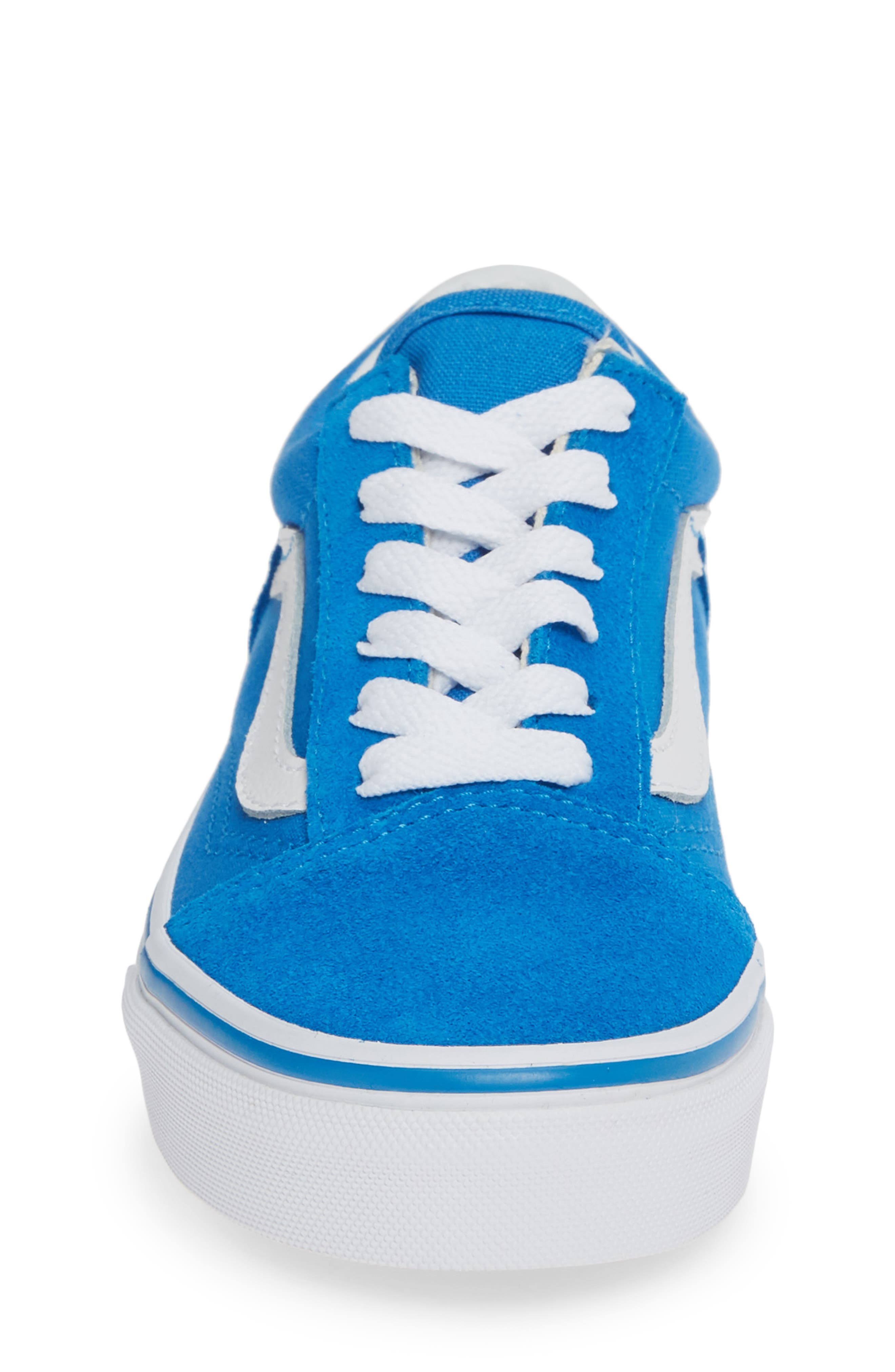 Old Skool Sneaker,                             Alternate thumbnail 4, color,                             INDIGO BUNTING/ TRUE WHITE