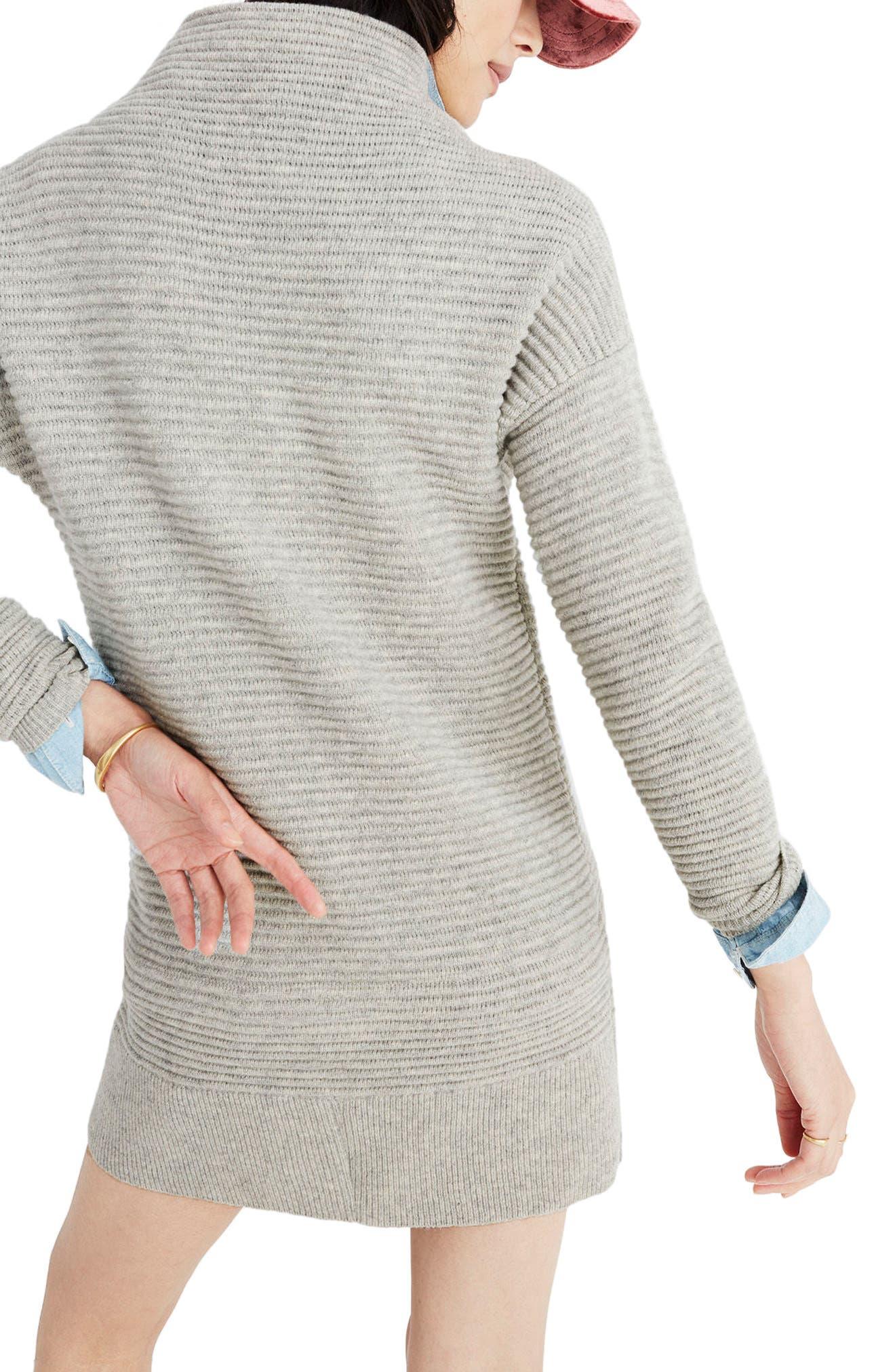 Skyscraper Merino Wool Sweater Dress,                             Alternate thumbnail 2, color,