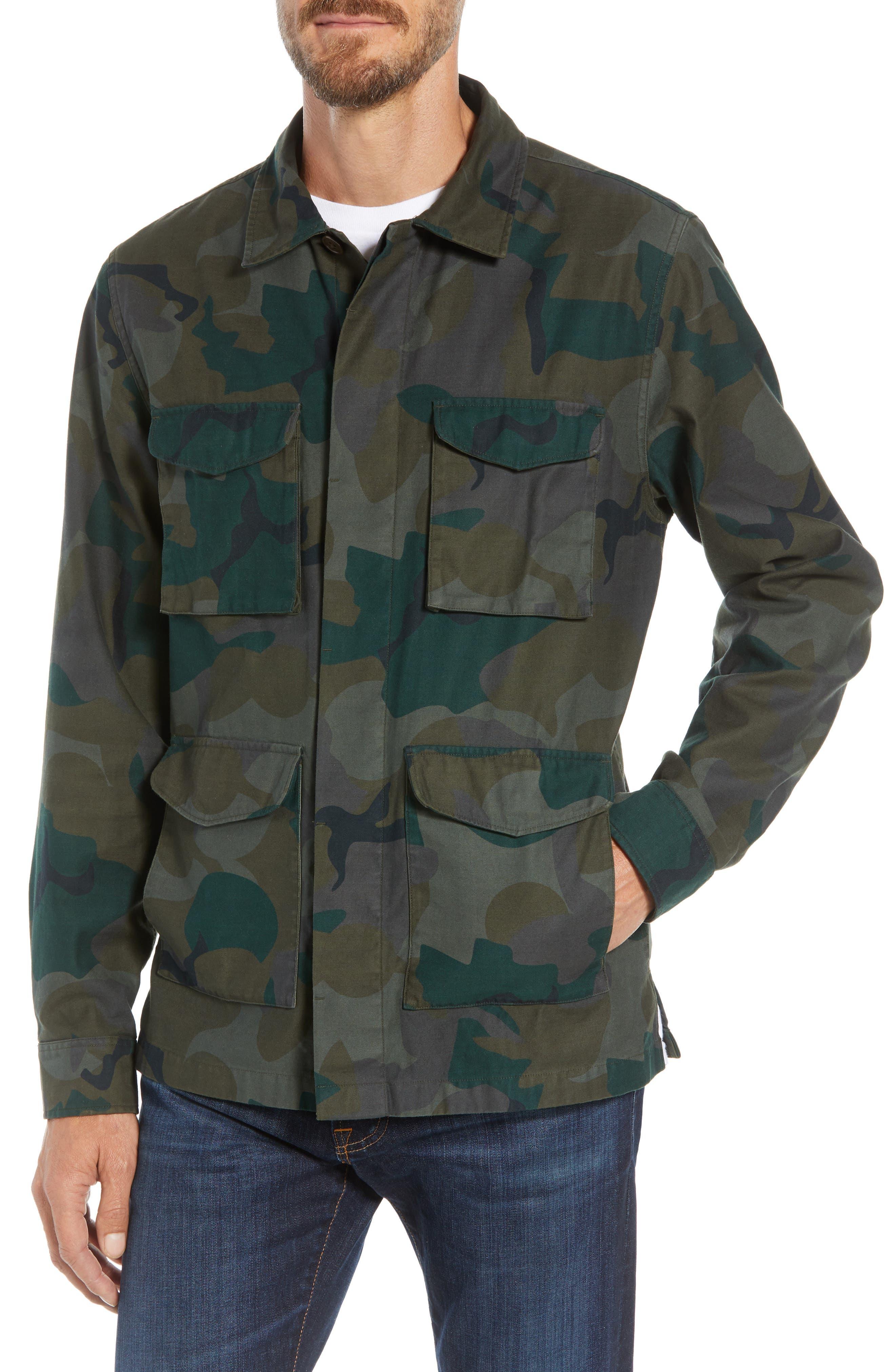 Four-Pocket Military Jacket,                             Alternate thumbnail 4, color,                             301