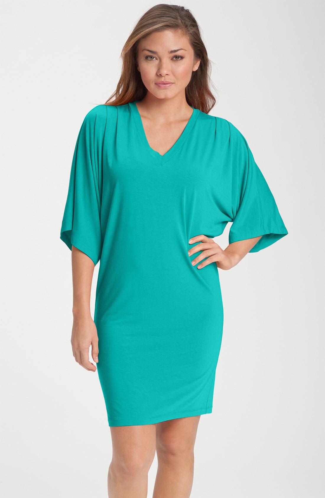 Kimono Sleeve Sleep Shirt, Main, color, 440