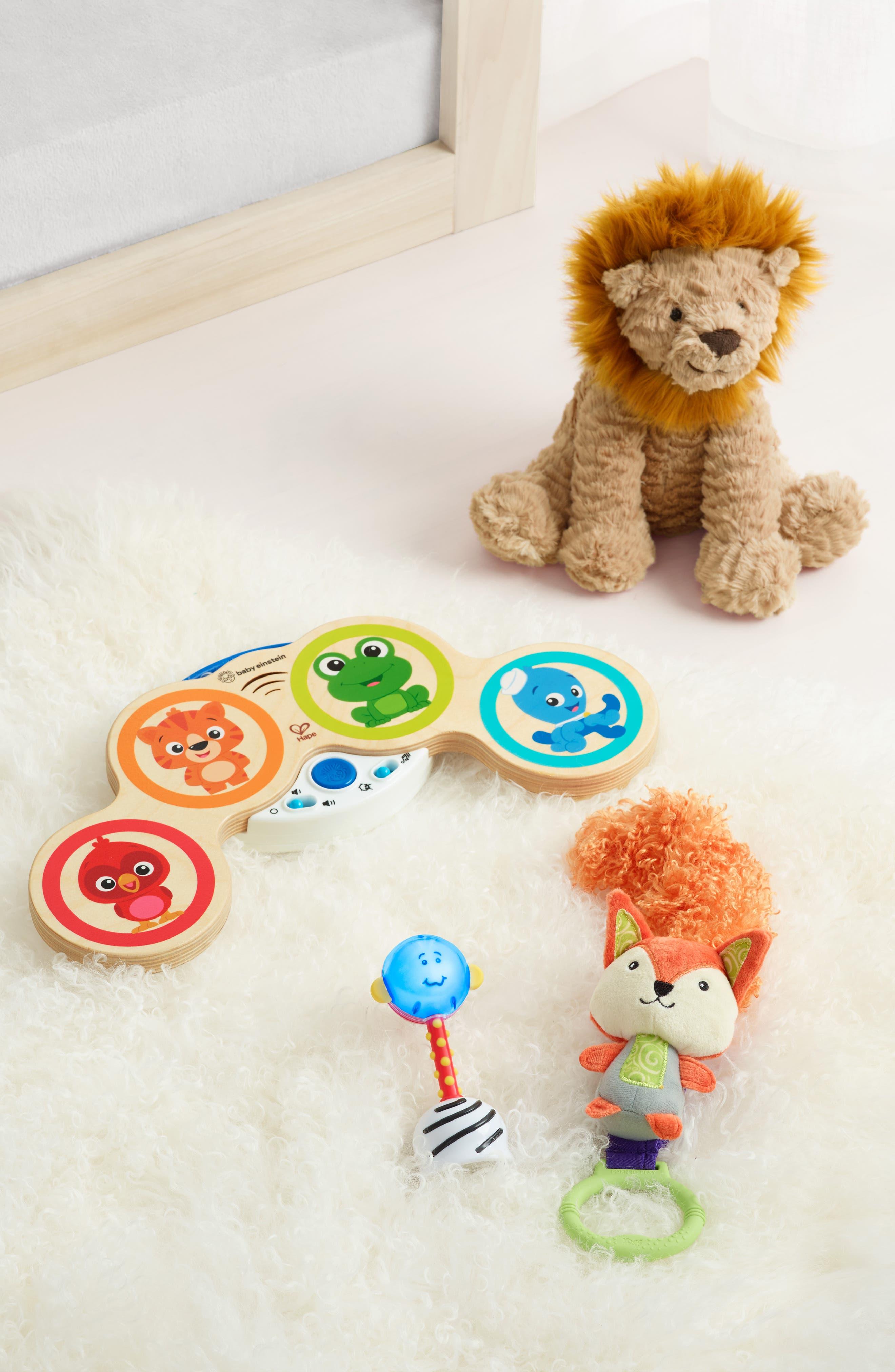 'Fuddlewuddle Lion' Stuffed Animal,                             Alternate thumbnail 3, color,                             BROWN