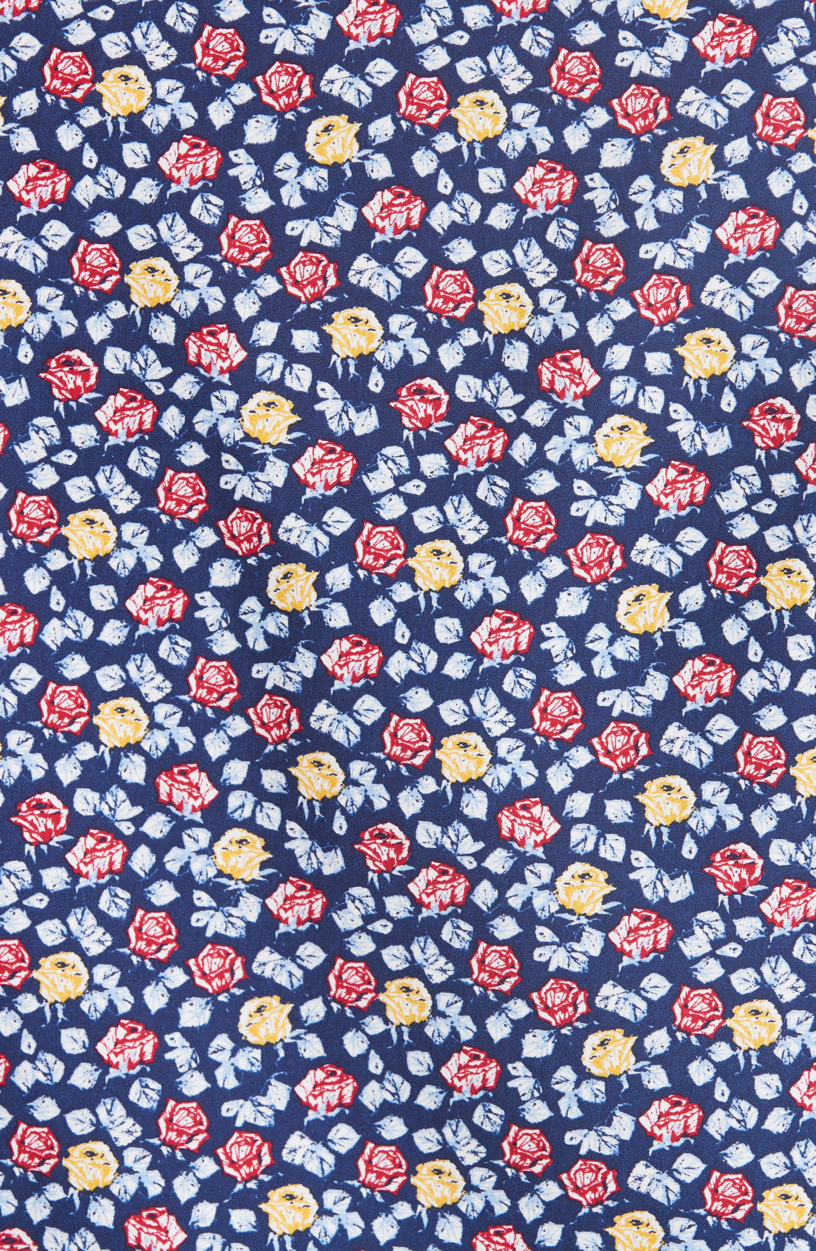 Regular Fit Floral Sport Shirt,                             Alternate thumbnail 5, color,                             400