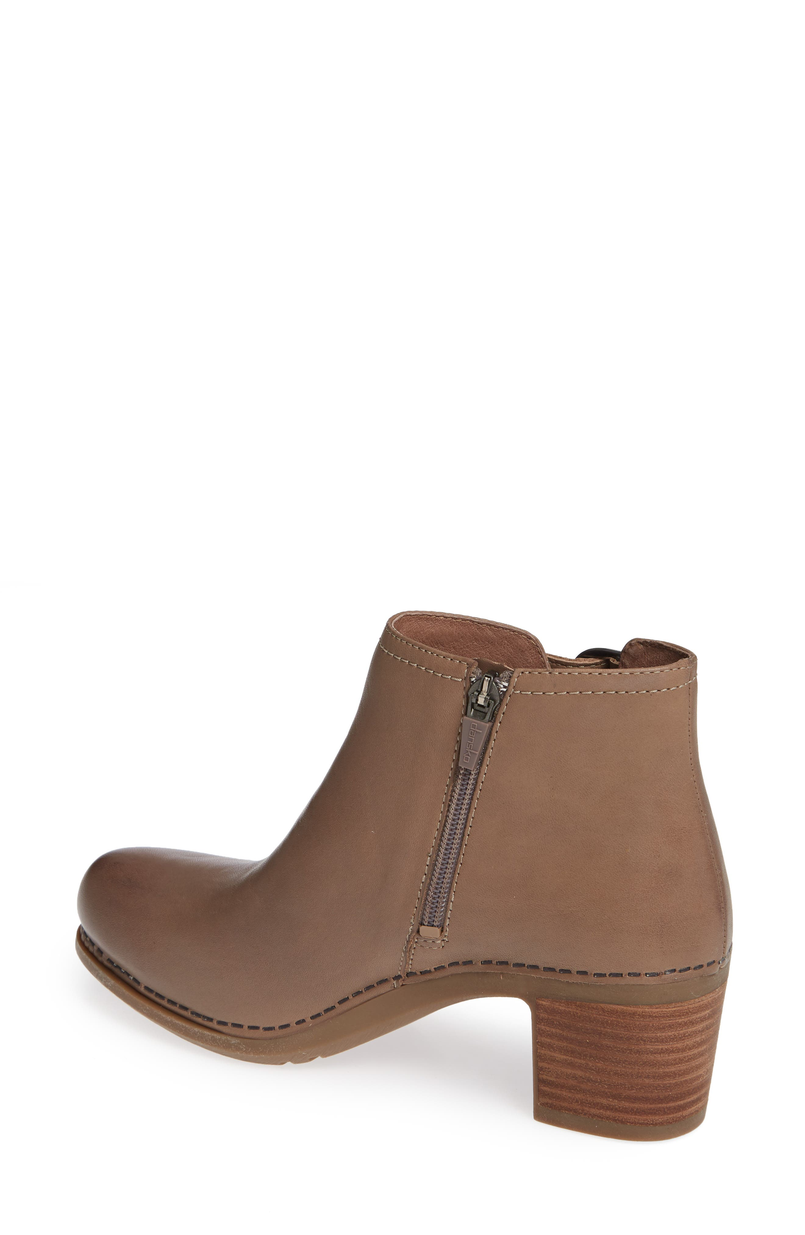 Henley Bootie,                             Alternate thumbnail 2, color,                             TAUPE LEATHER