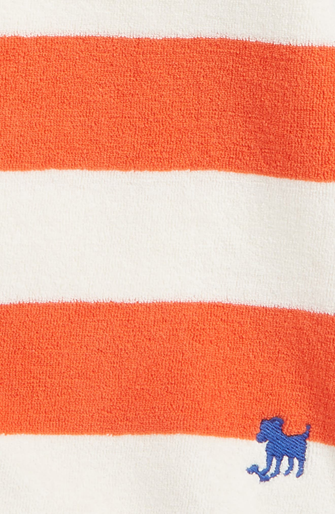 Stripe Toweling Sweatshirt,                             Alternate thumbnail 2, color,                             600