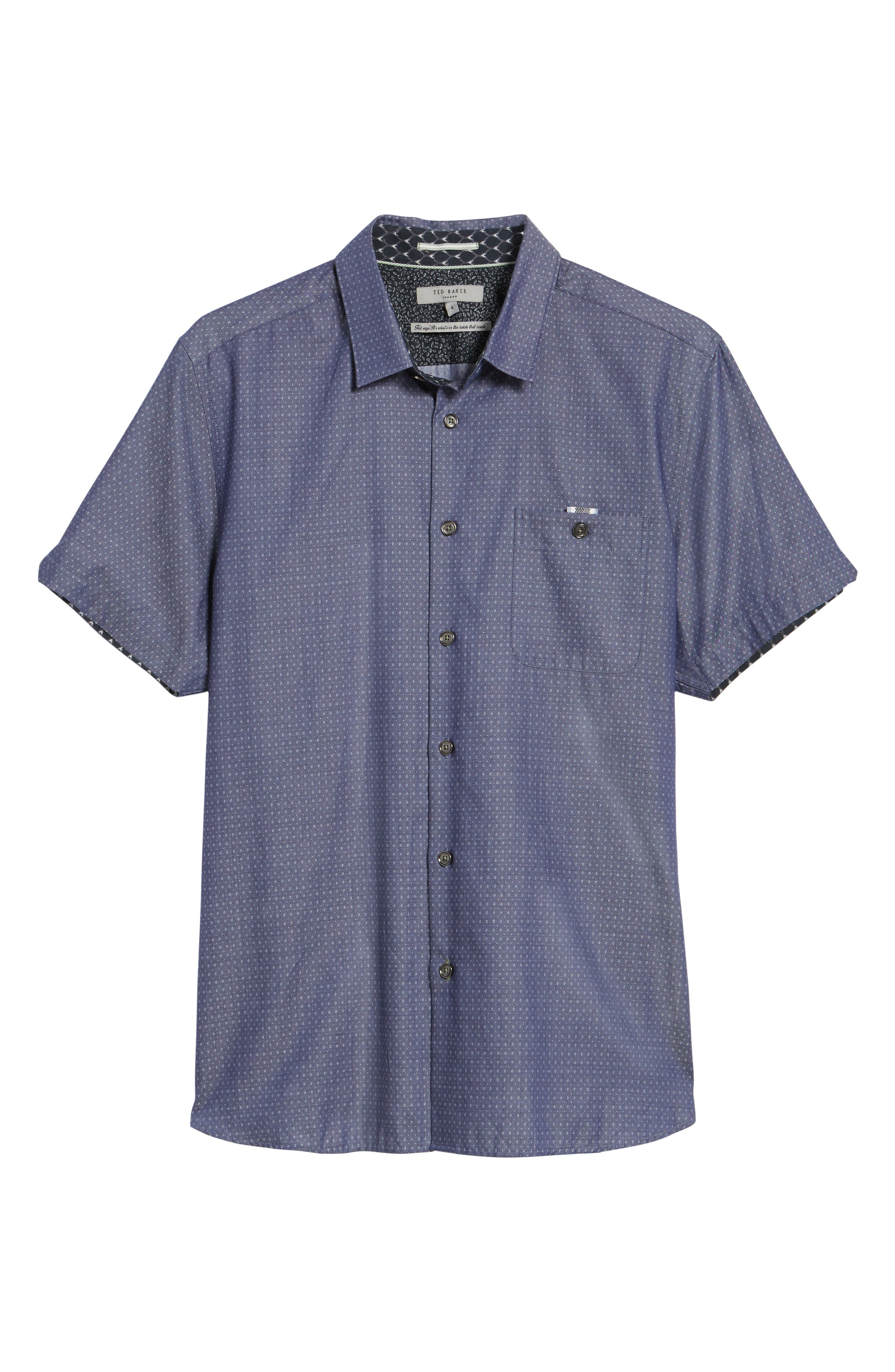 Eligant Denim Sport Shirt,                             Alternate thumbnail 6, color,                             421