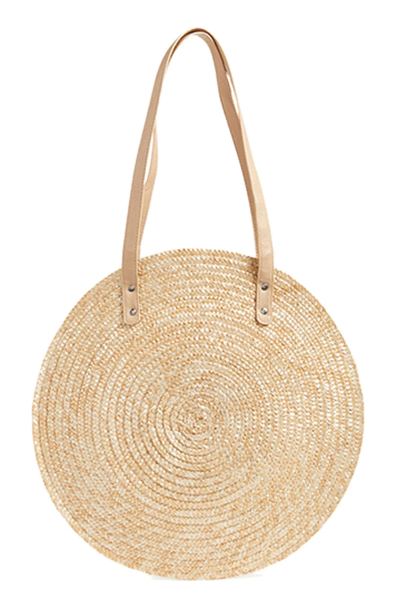Circle Basket Tote Bag,                             Alternate thumbnail 8, color,                             250