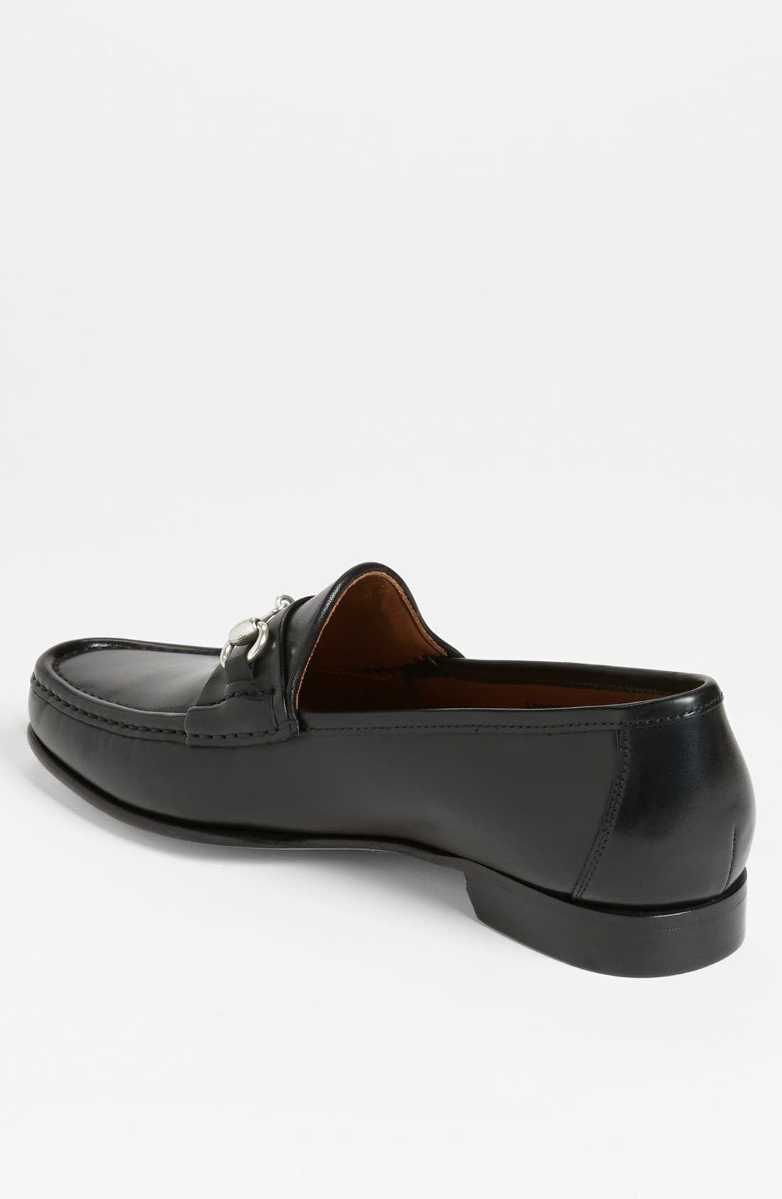 Verona II Bit Loafer,                             Alternate thumbnail 2, color,                             BLACK