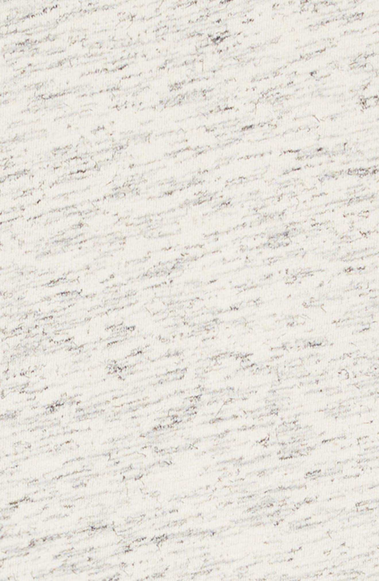 Varsity Ruffle Sleeve Dress,                             Alternate thumbnail 3, color,                             GREY