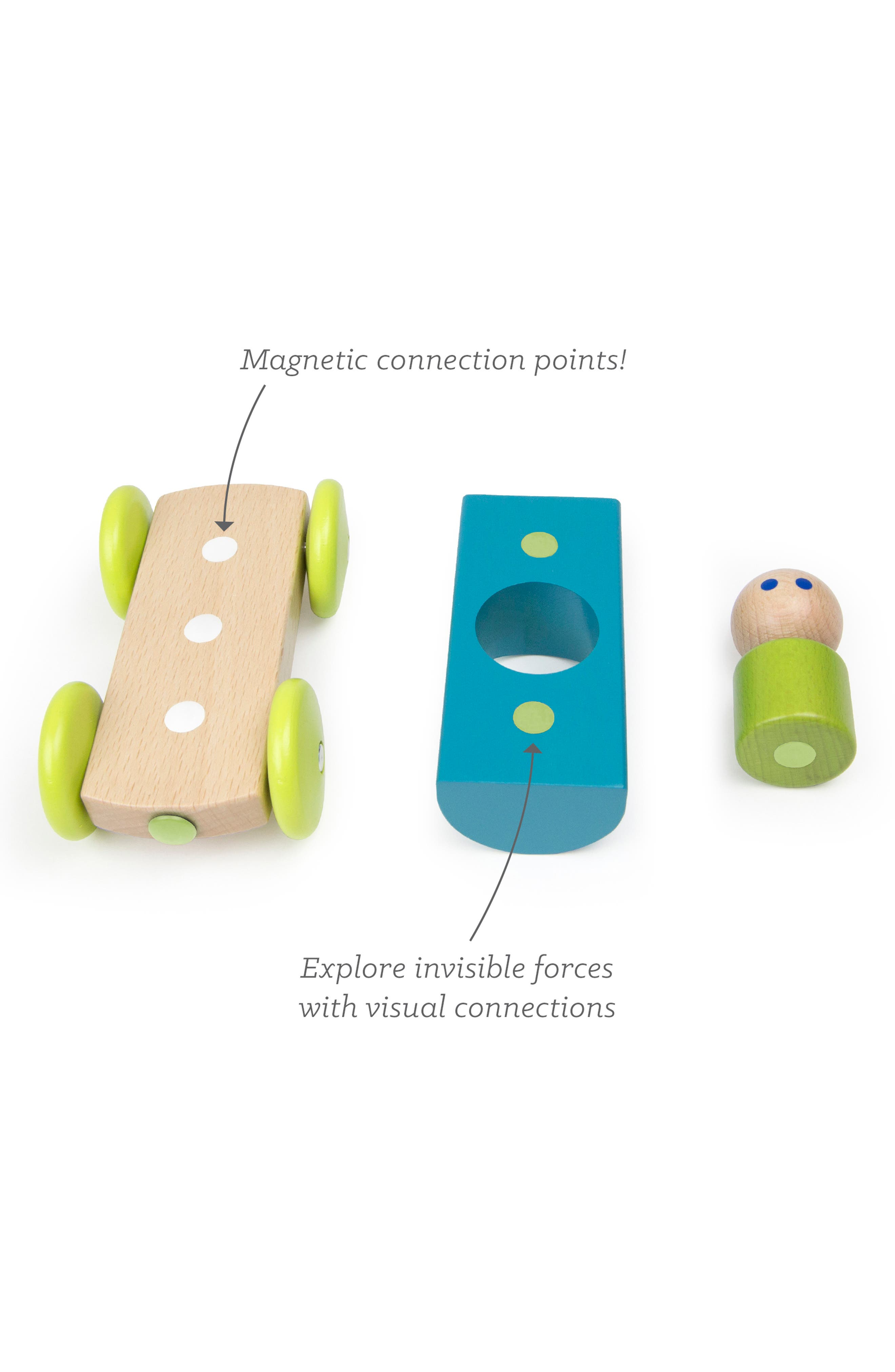 Half Pipe Magnetic Racer Toy,                             Alternate thumbnail 7, color,                             RAINBOW