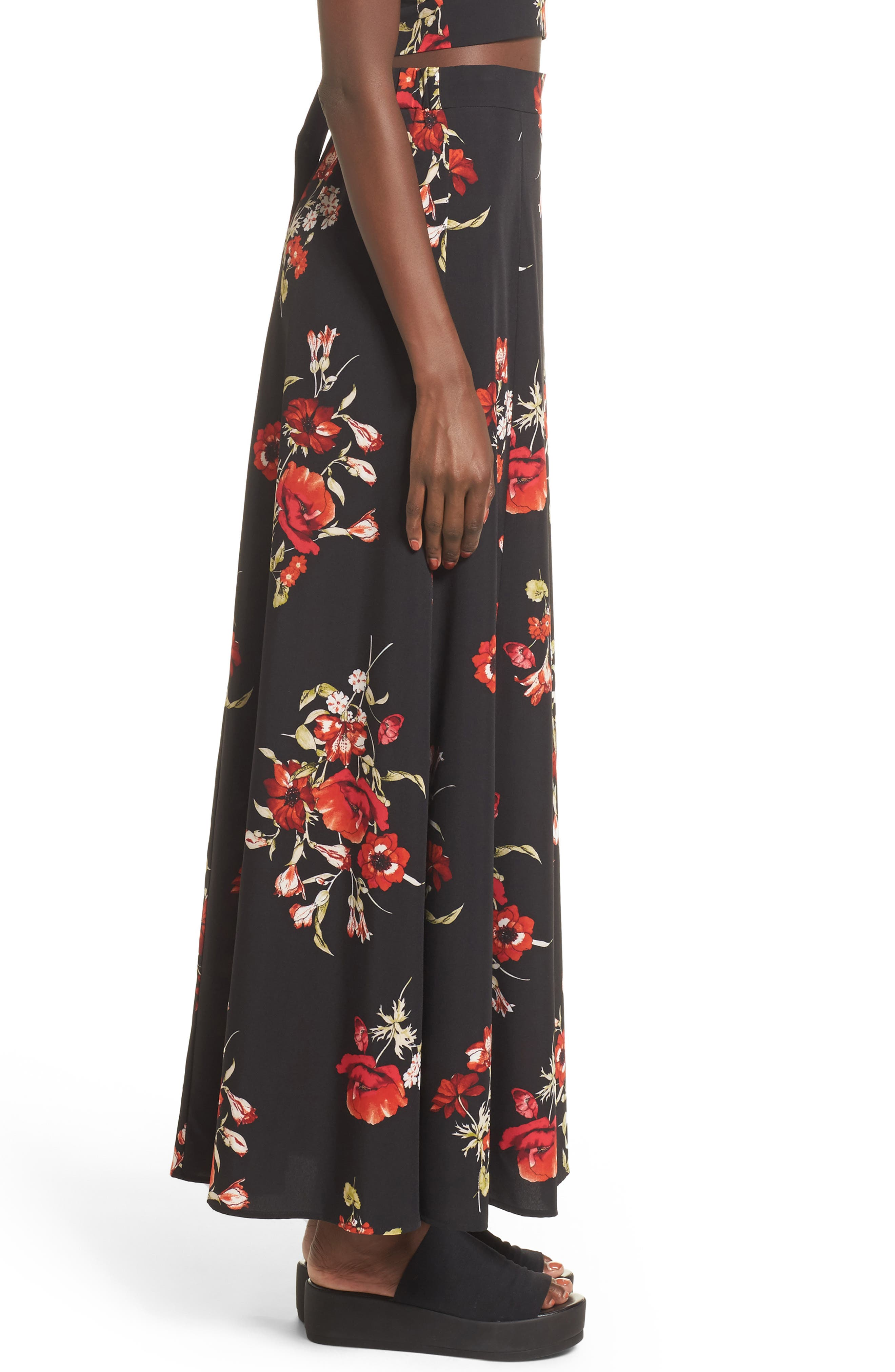 Maxi Skirt,                             Alternate thumbnail 3, color,                             002