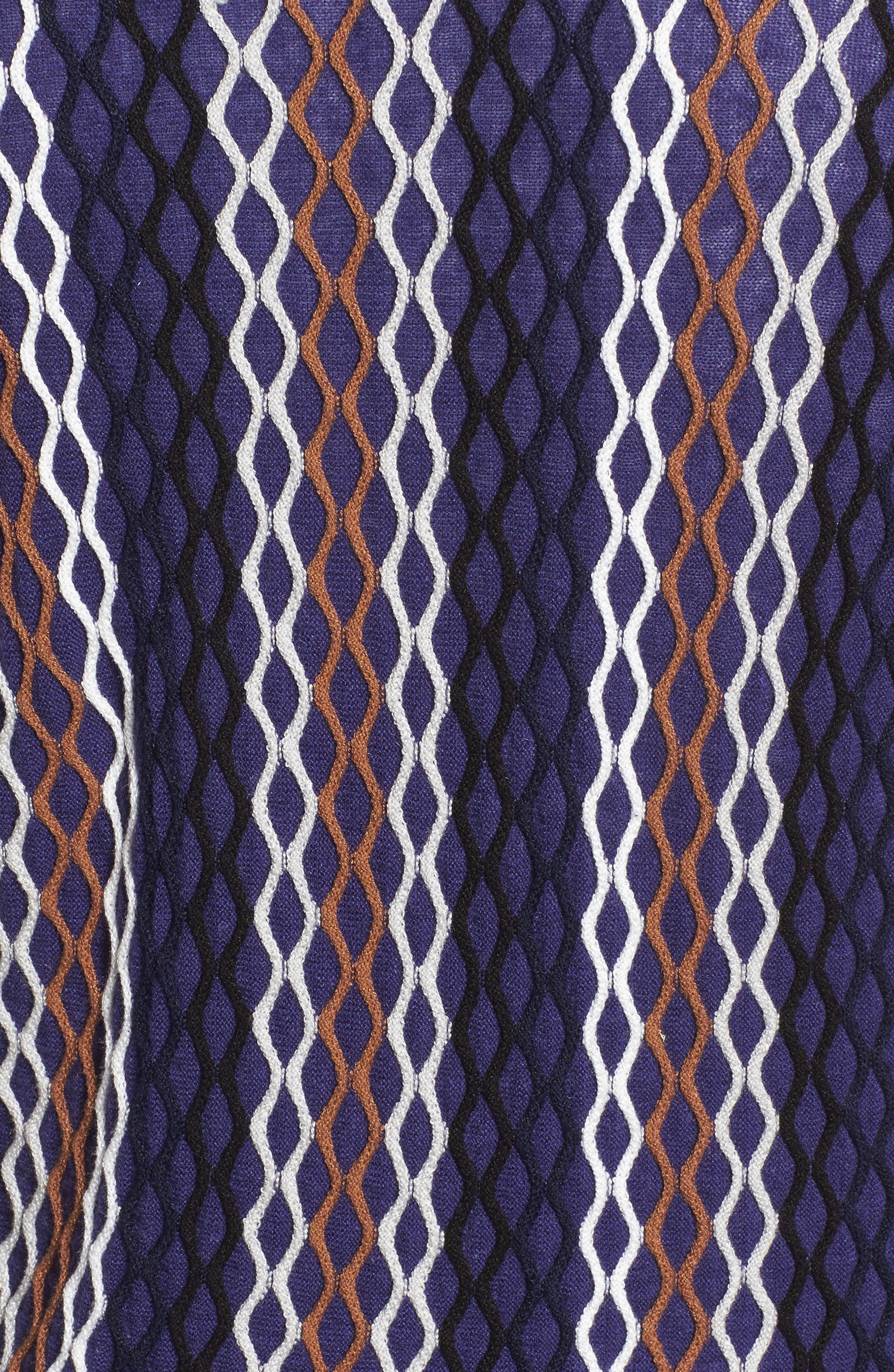 NIC+ ZOE Squiggled Up 4-Way Convertible Cardigan,                             Alternate thumbnail 5, color,                             499